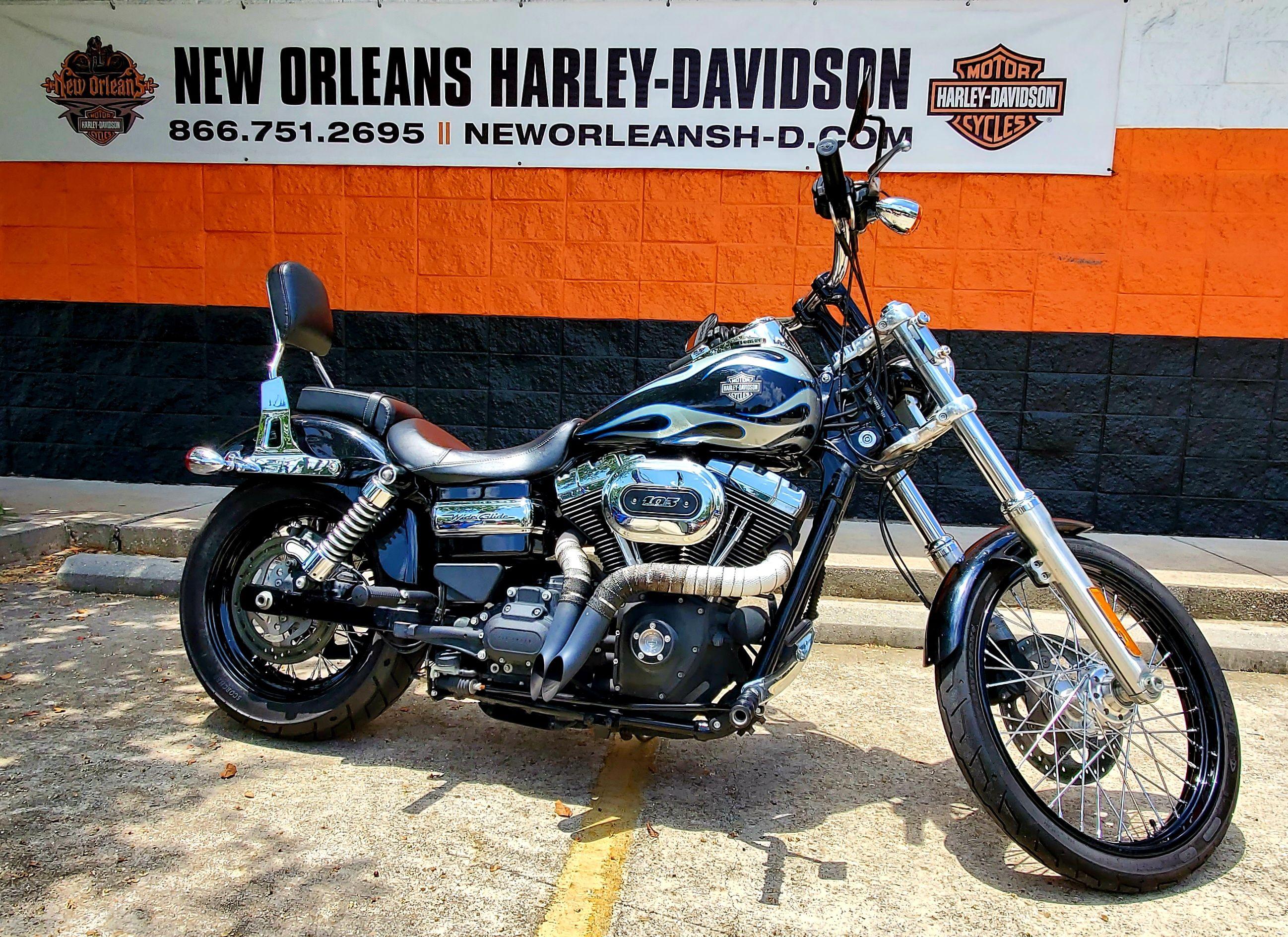 Pre-Owned 2016 Harley-Davidson Wide Glide FXDWG