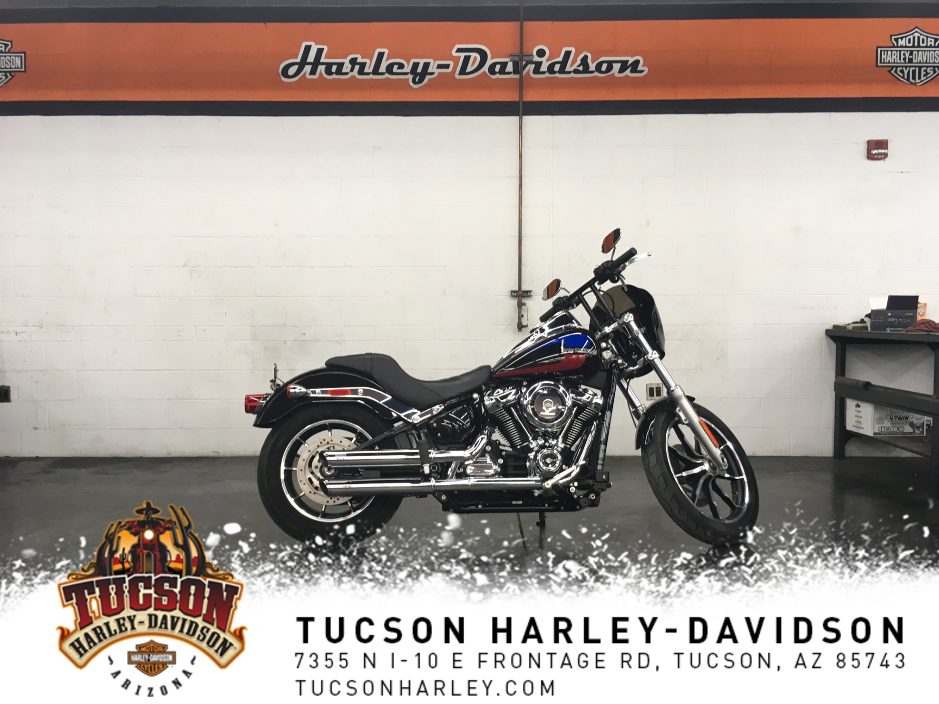 Pre-Owned 2018 Harley-Davidson Softail Low Rider FXLR