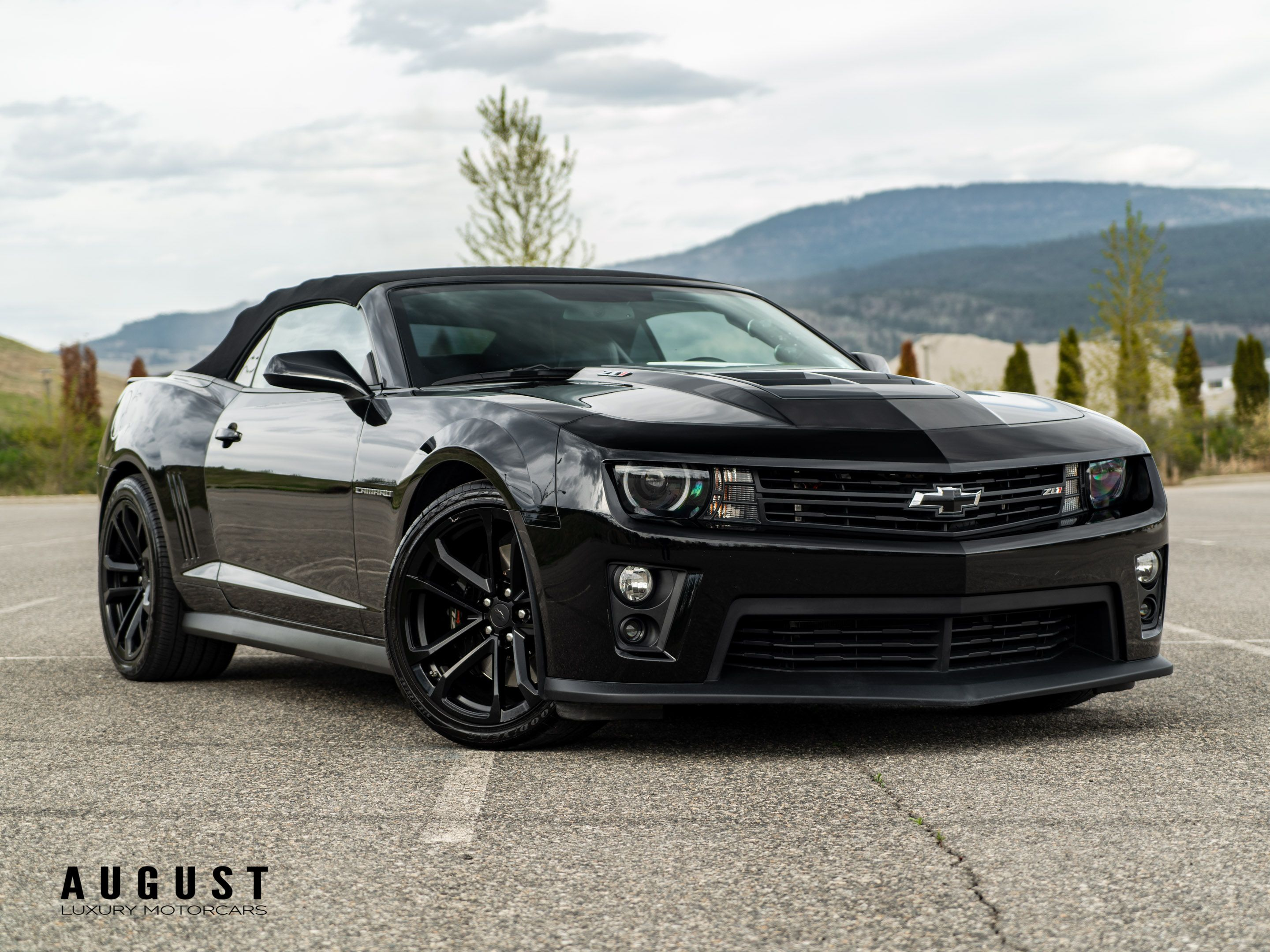 Pre-Owned 2014 Chevrolet Camaro Supercharged ZL1