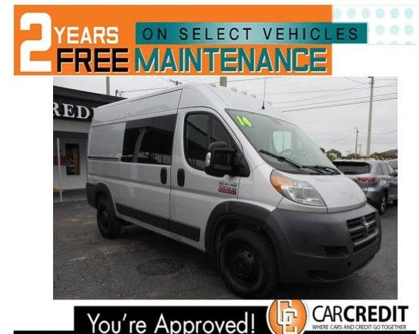 Pre-Owned 2014 Ram ProMaster Cargo Van