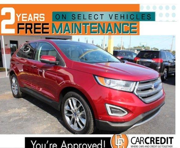 Pre-Owned 2015 Ford Edge Titanium