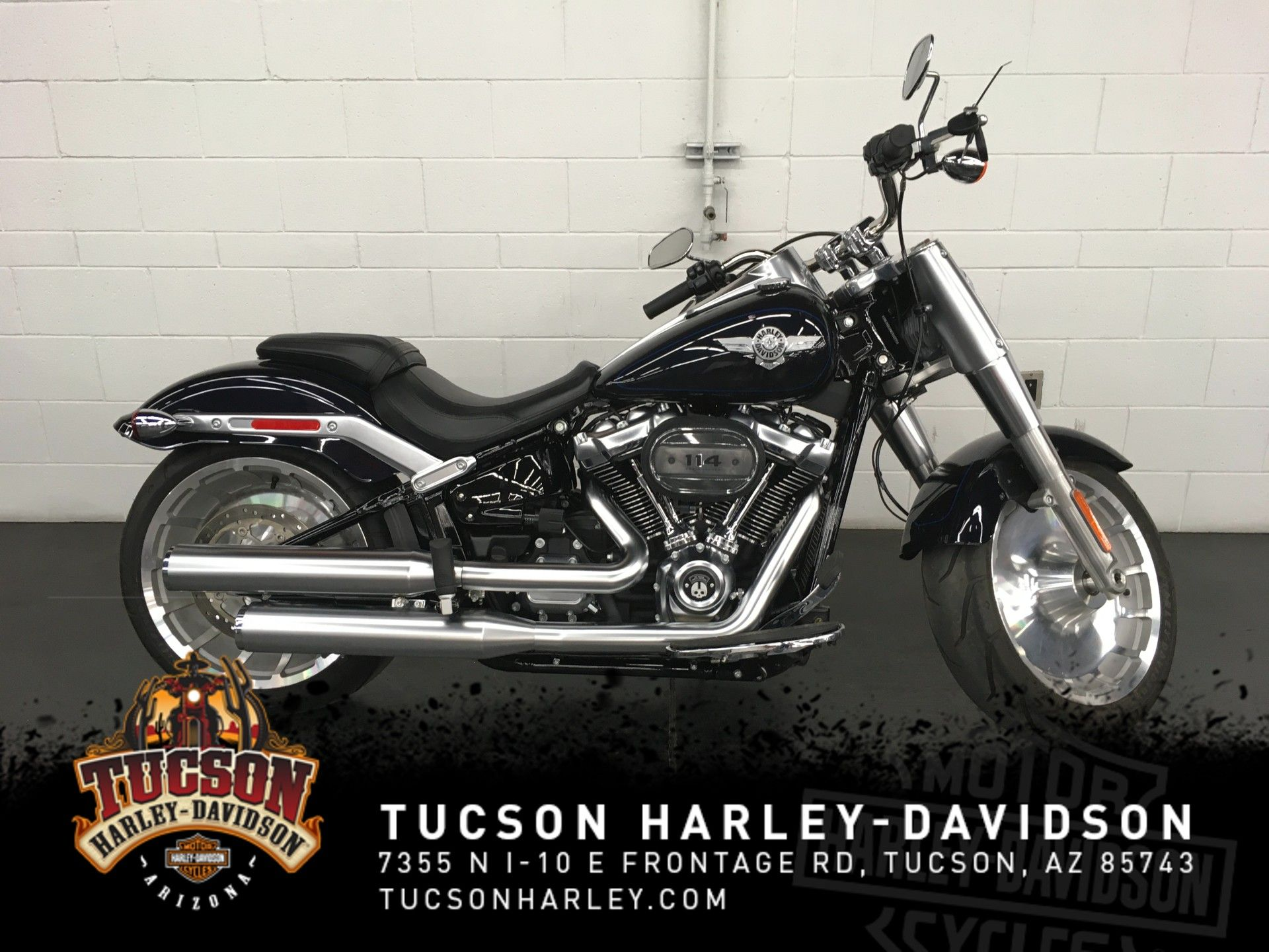 Pre-Owned 2019 Harley-Davidson Fat Boy 114