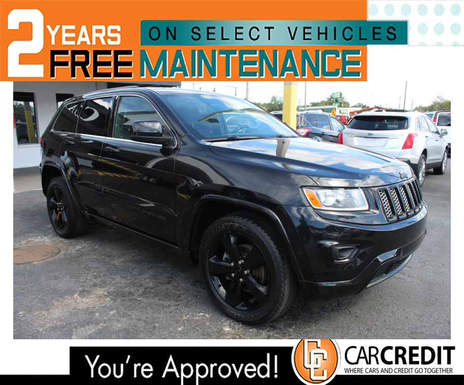 Pre-Owned 2014 JEEP Grand Cherokee 4X4 Altitude