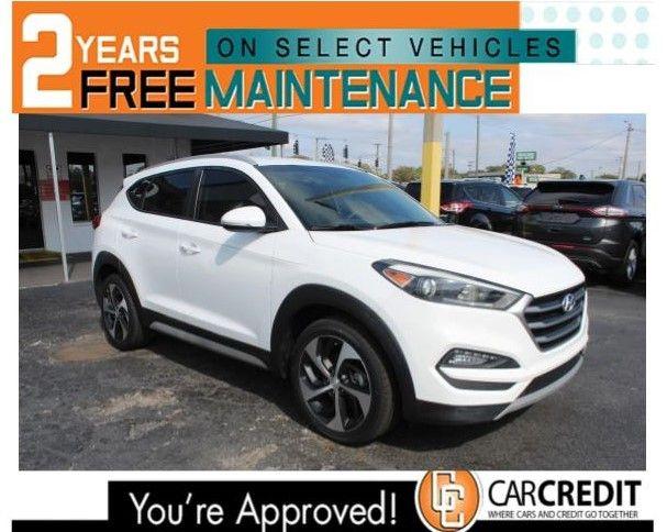 Pre-Owned 2017 Hyundai Tucson Sport