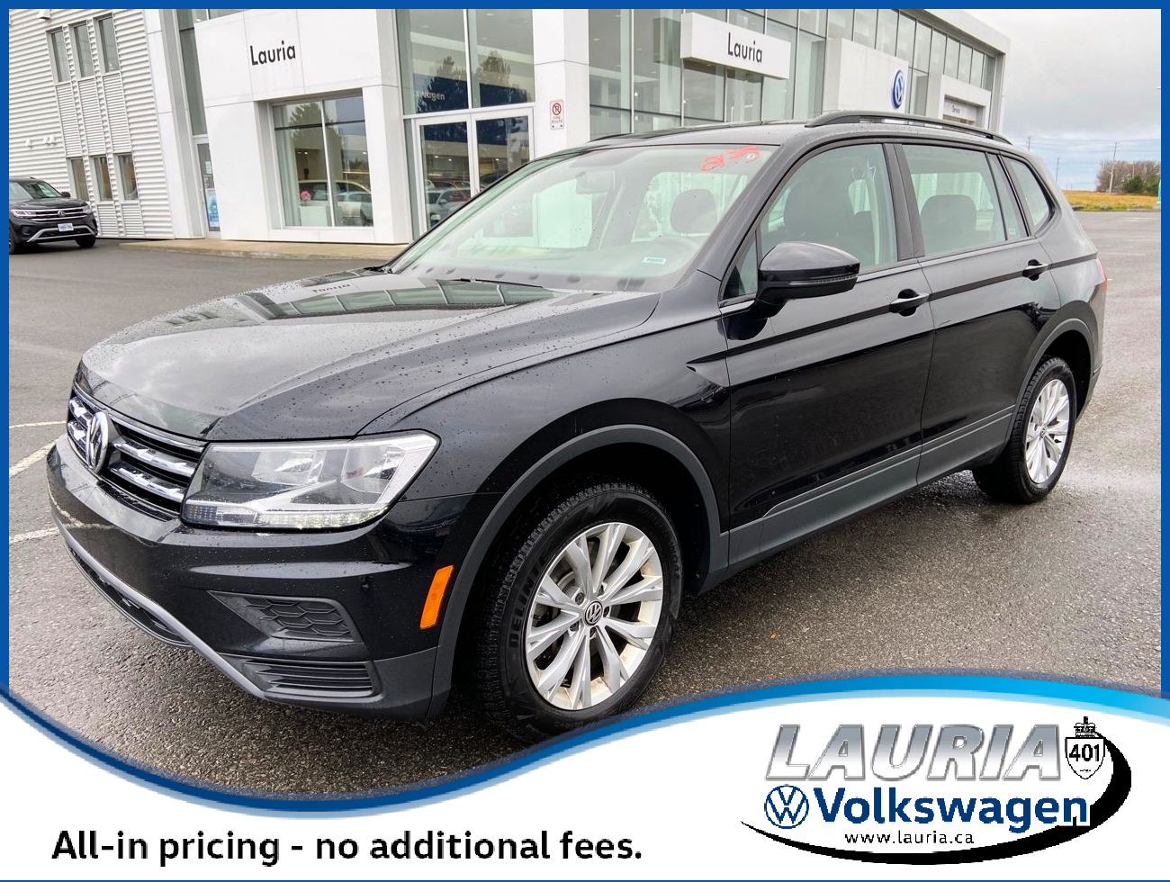 Certified Pre-Owned 2019 Volkswagen Tiguan 2.0T Trendline 4Motion AWD