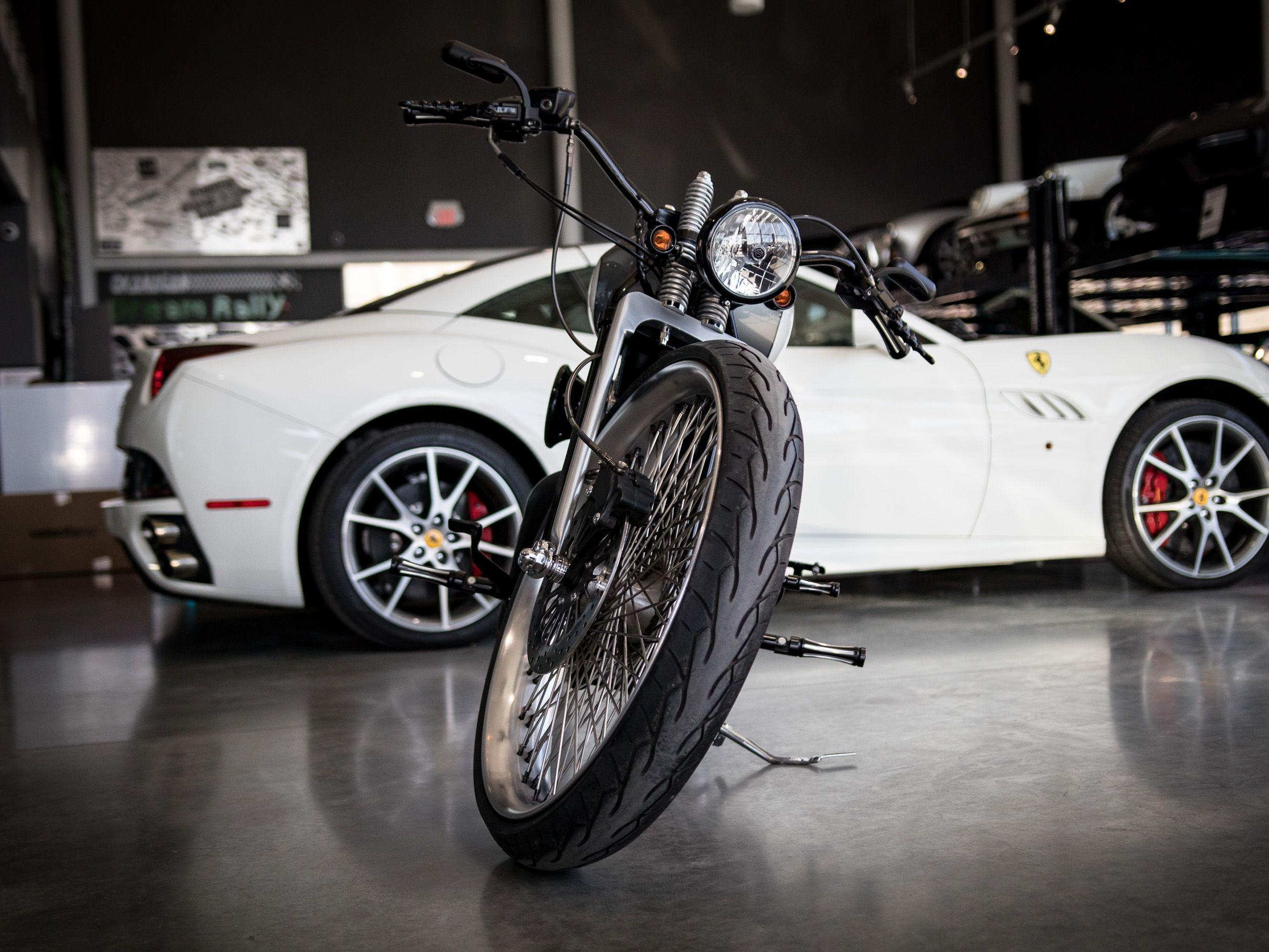 Pre Owned 2007 Harley Davidson Sportster 1200 Custom Built In Kelowna Bc Canada Au 1040 August Luxury Motorcars