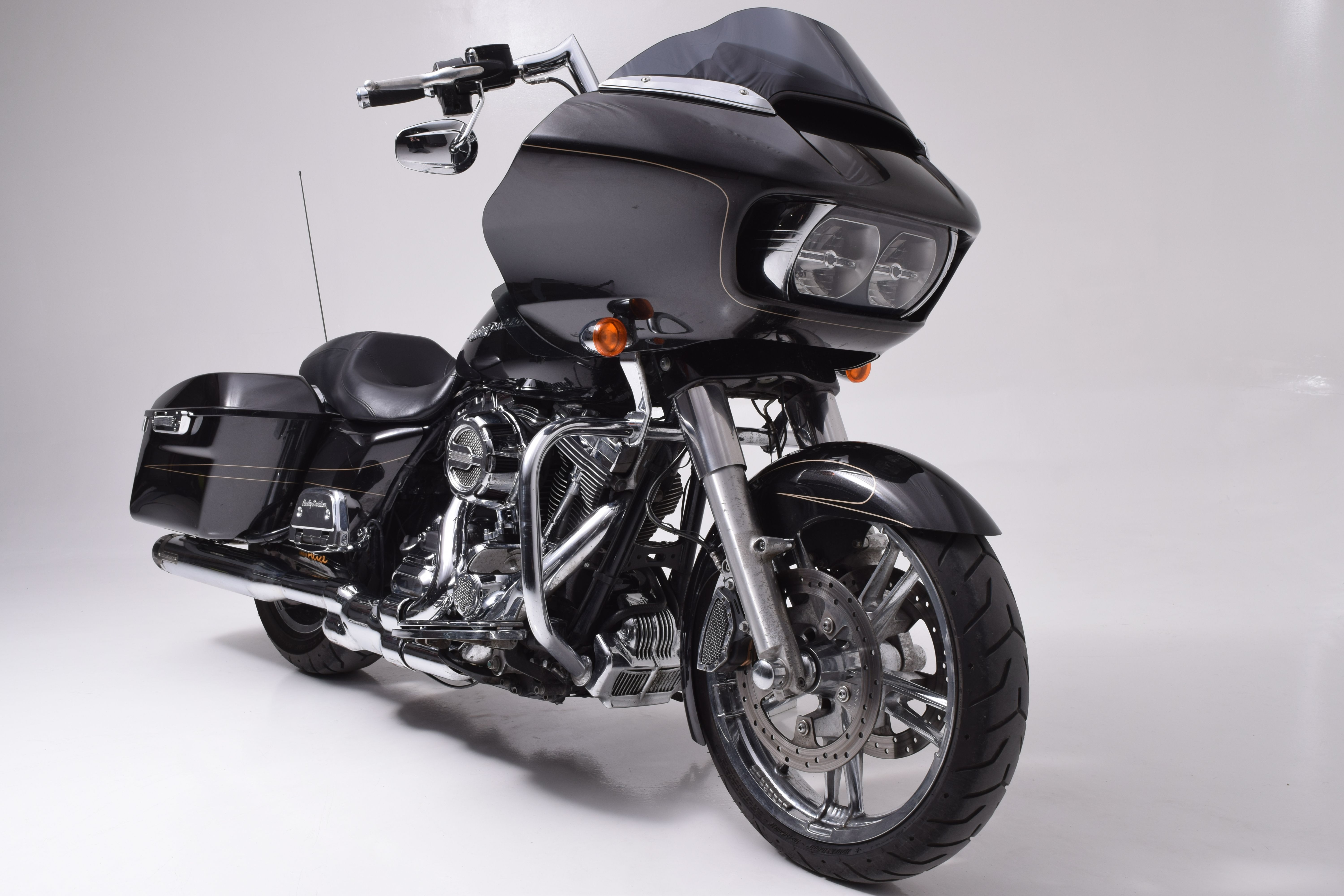 Chrome Adjustable Saddlebag Support Kit,for Harley Davidson,by V-Twin