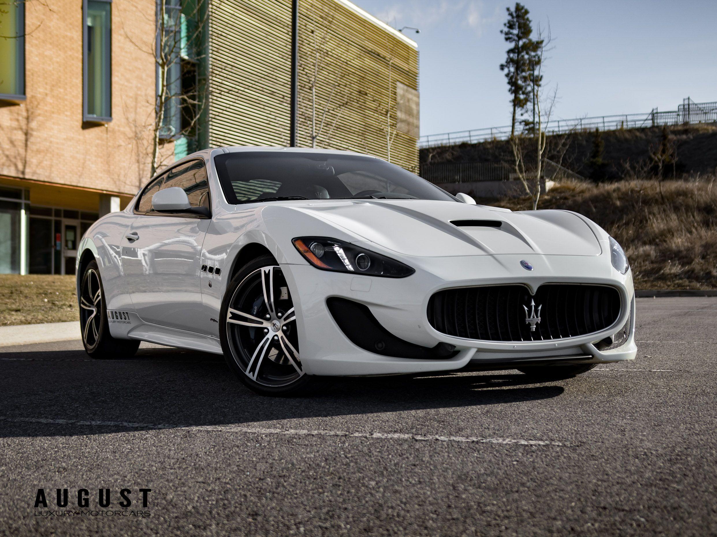 Pre-Owned 2015 Maserati GranTurismo Sport