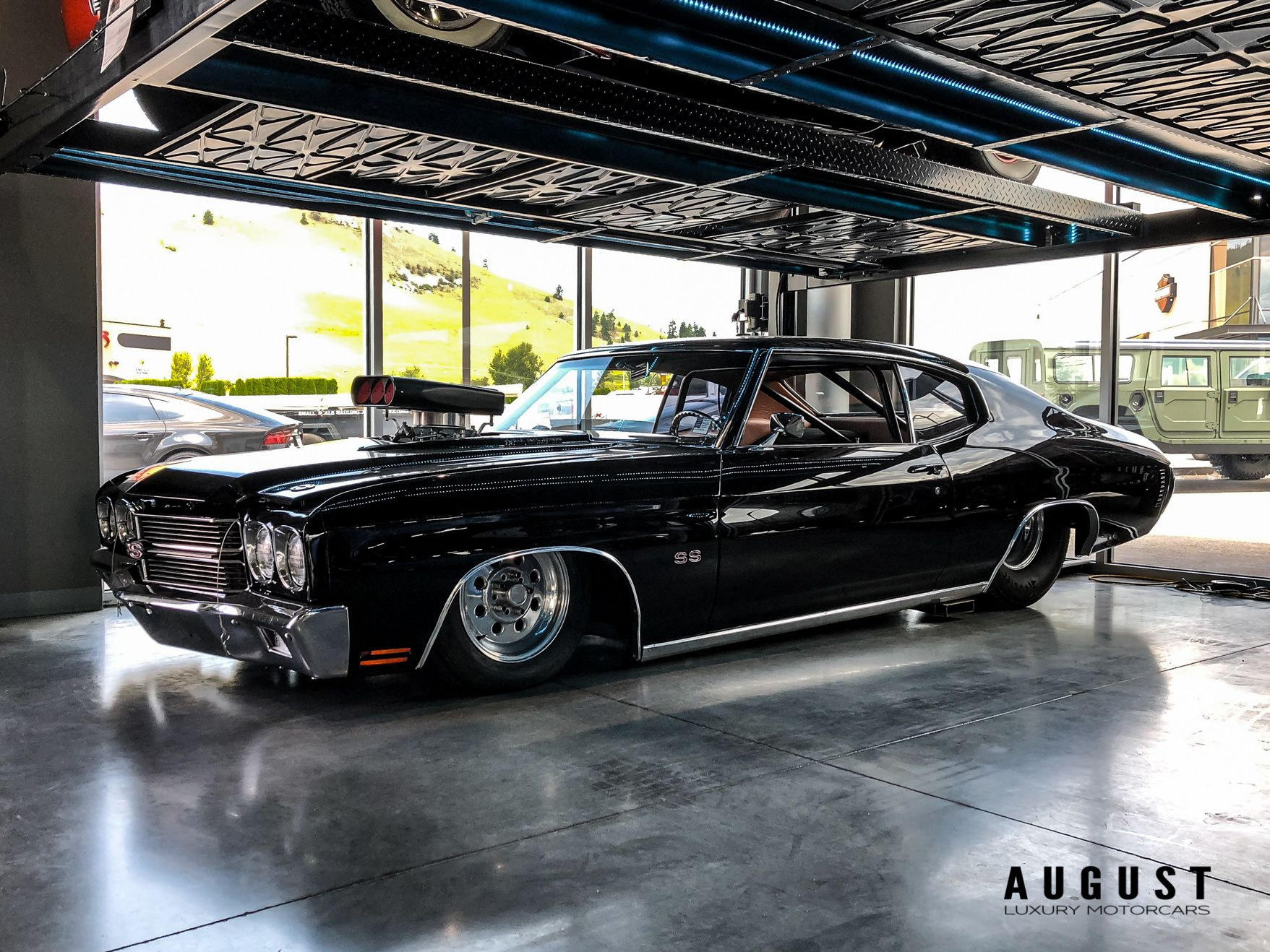 Pre-Owned 1972 Chevrolet Malibu With a 572 Big Block