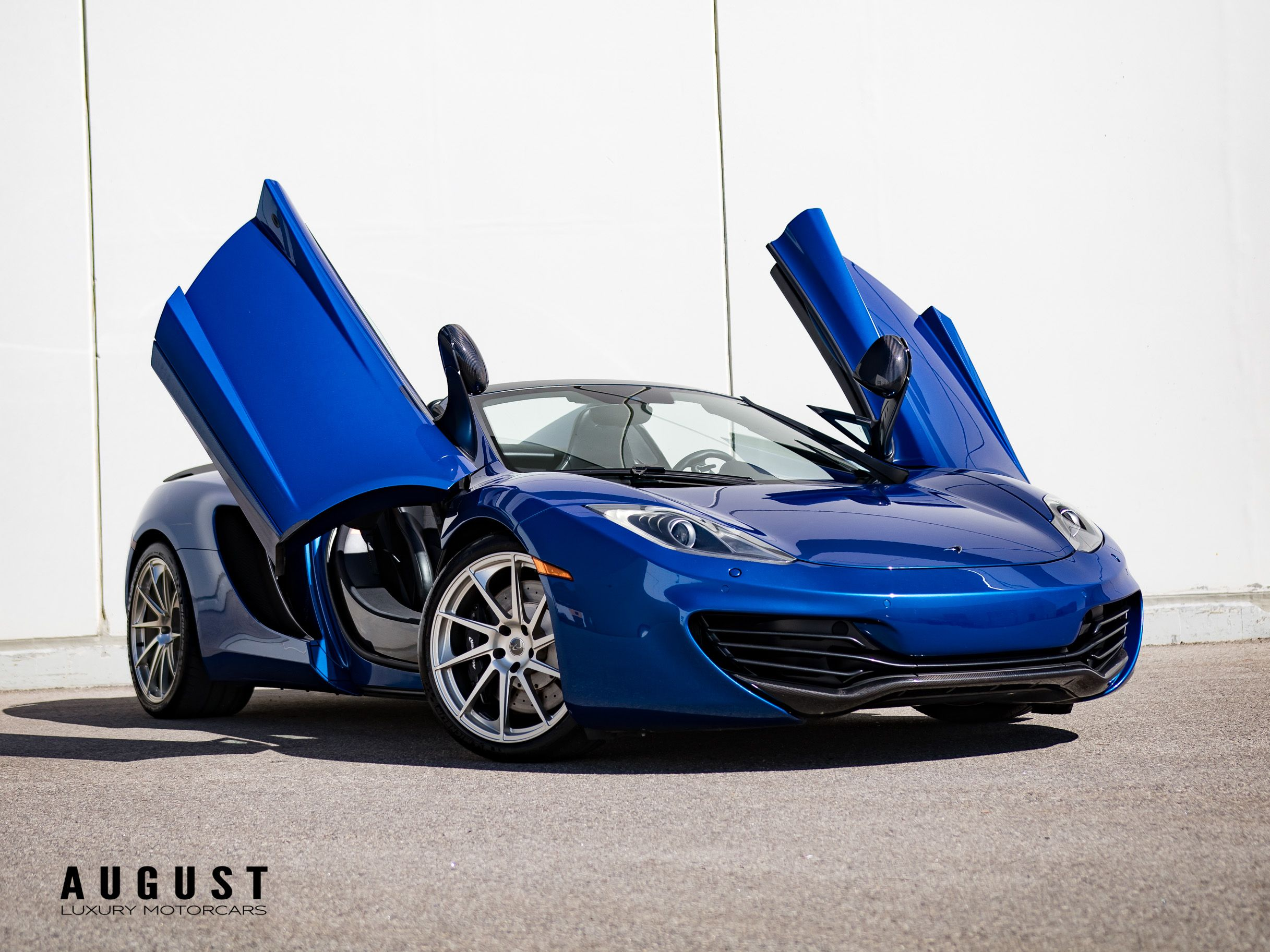 Pre-Owned 2014 McLaren MP4-12C Spider 800 HP Package