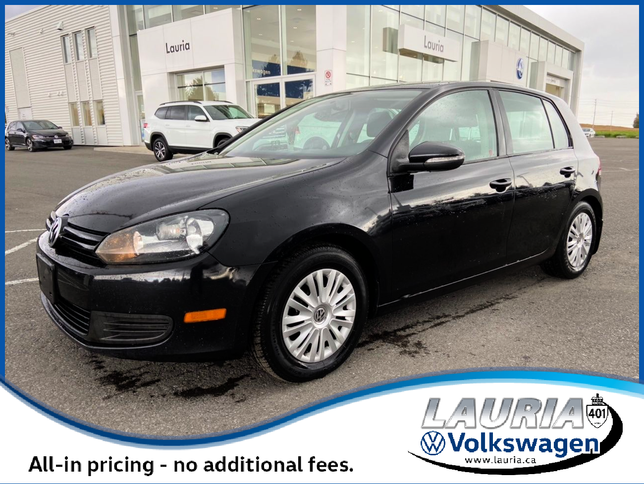 Pre-Owned 2013 Volkswagen Golf 2.5L Trendline Auto - LOW KMS
