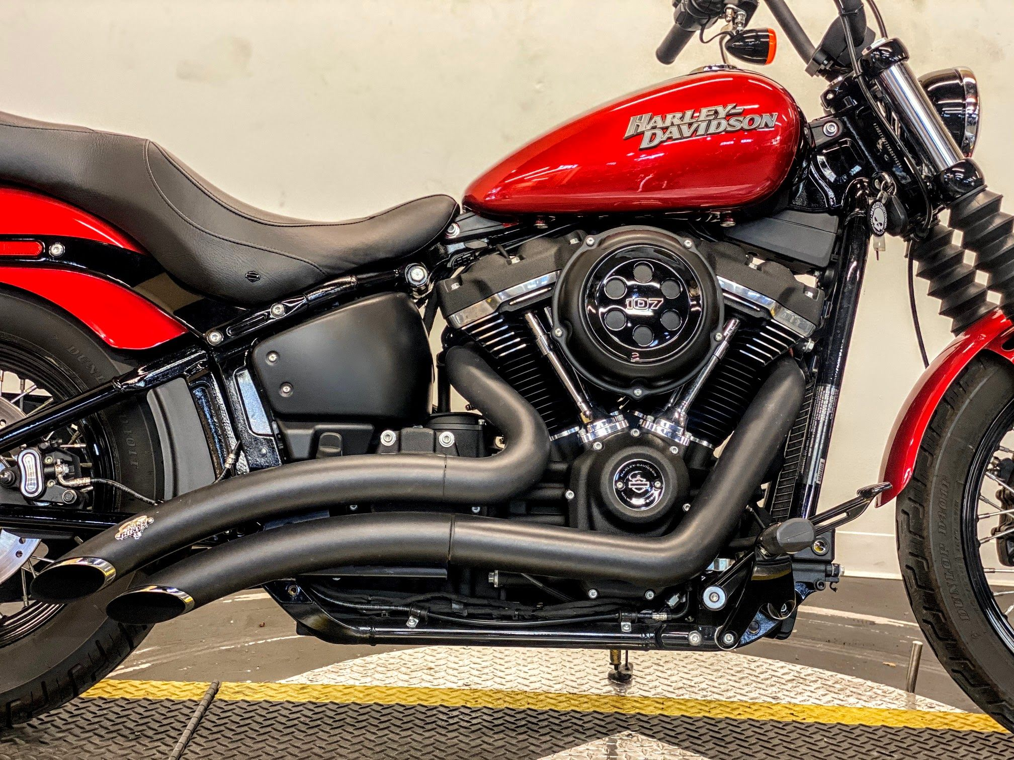 Pre-Owned 2019 Harley-Davidson Street Bob FXBB