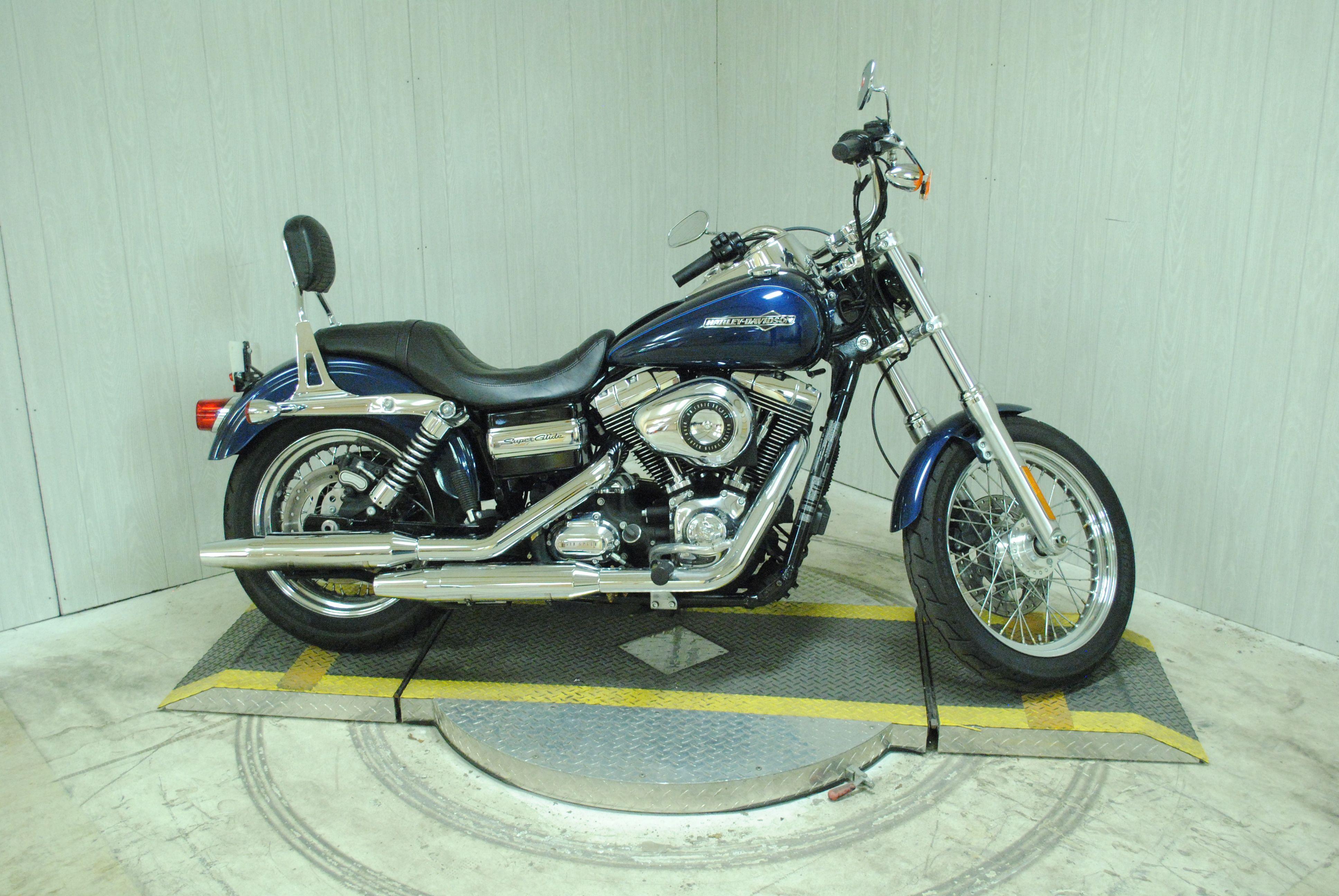 Pre-Owned 2012 Harley-Davidson Super Glide Custom FXDC