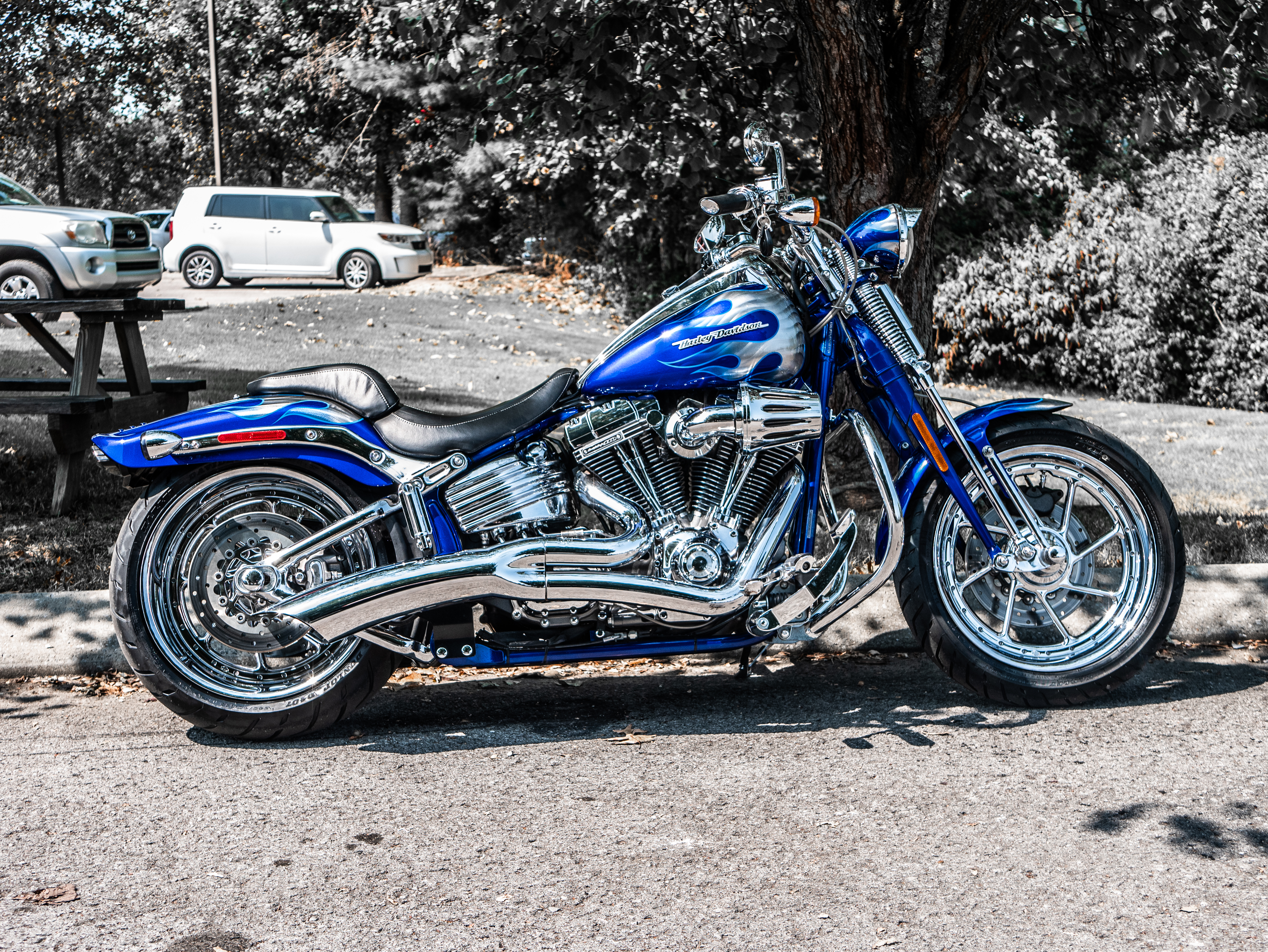 Surprising Pre Owned 2009 Harley Davidson Cvo Springer In Franklin Alphanode Cool Chair Designs And Ideas Alphanodeonline