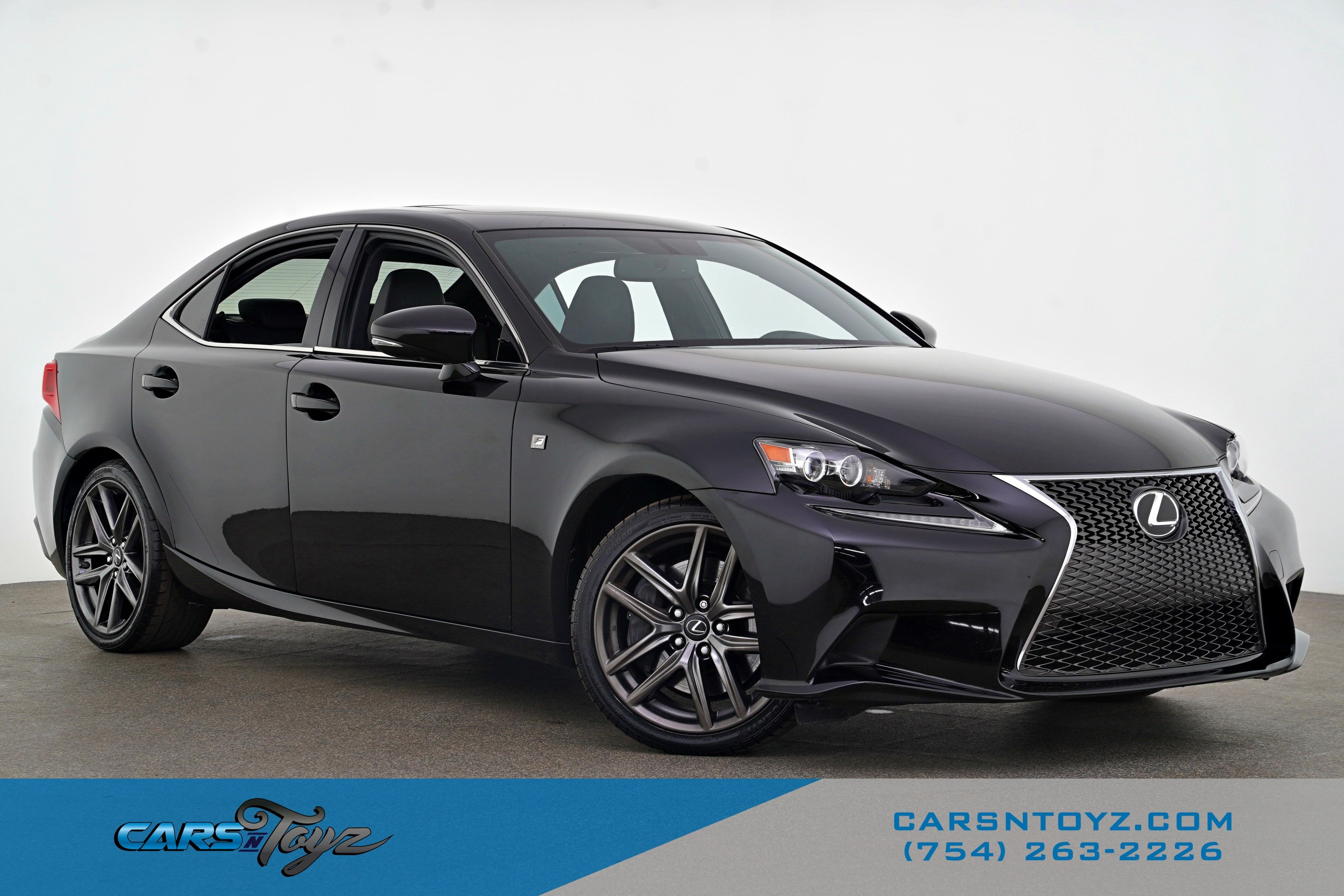 2016 Lexus IS 350 With Navigation