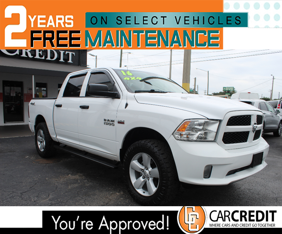 Pre-Owned 2016 DODGE RAM 1500 OFF-ROAD 4X4