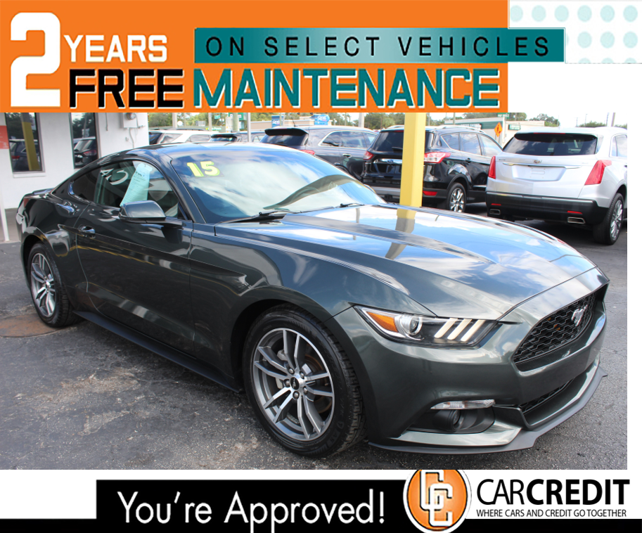 Pre-Owned 2015 Ford Mustang EcoBoost