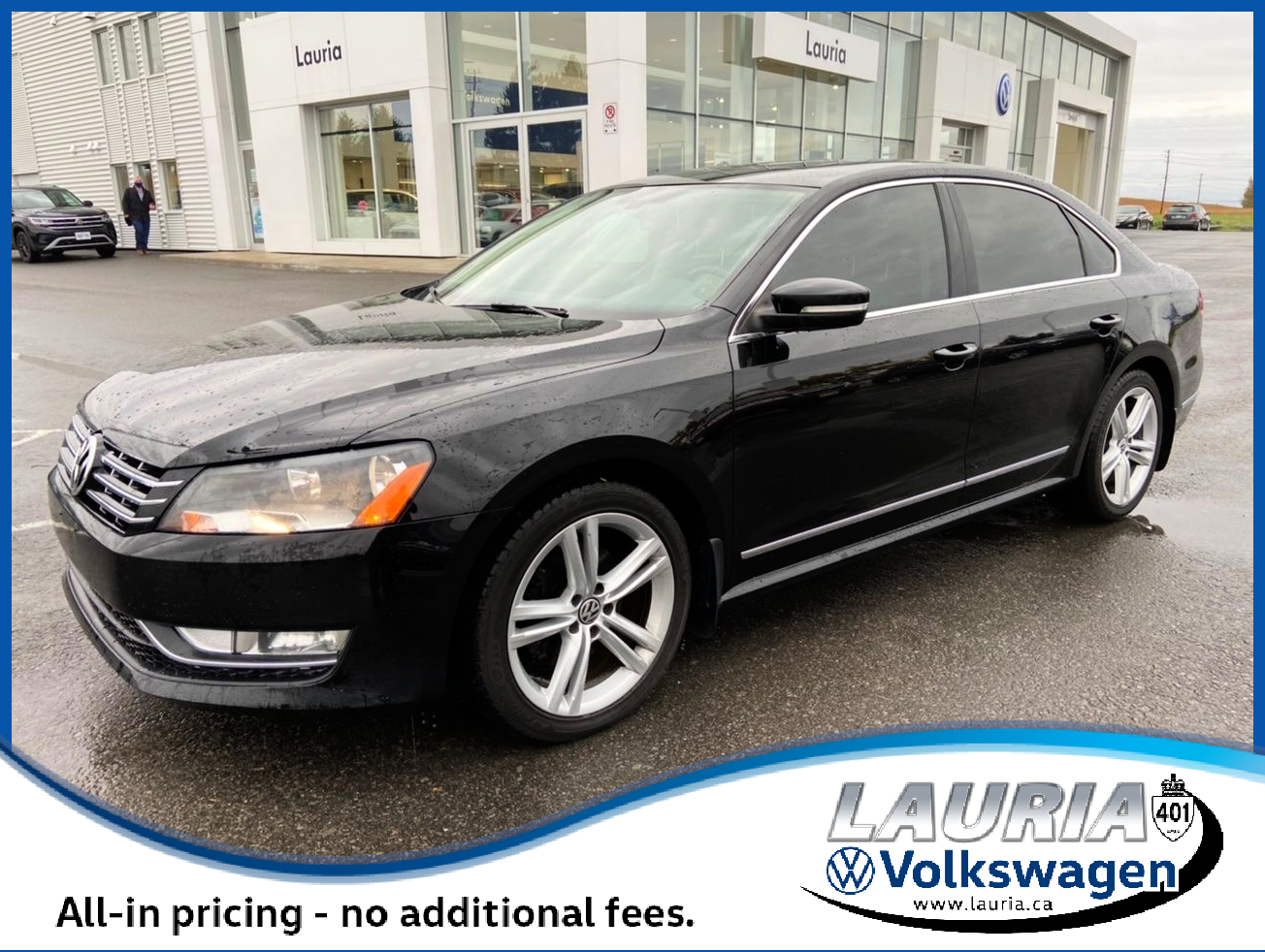 Certified Pre-Owned 2015 Volkswagen Passat Highline Manual - LOADED