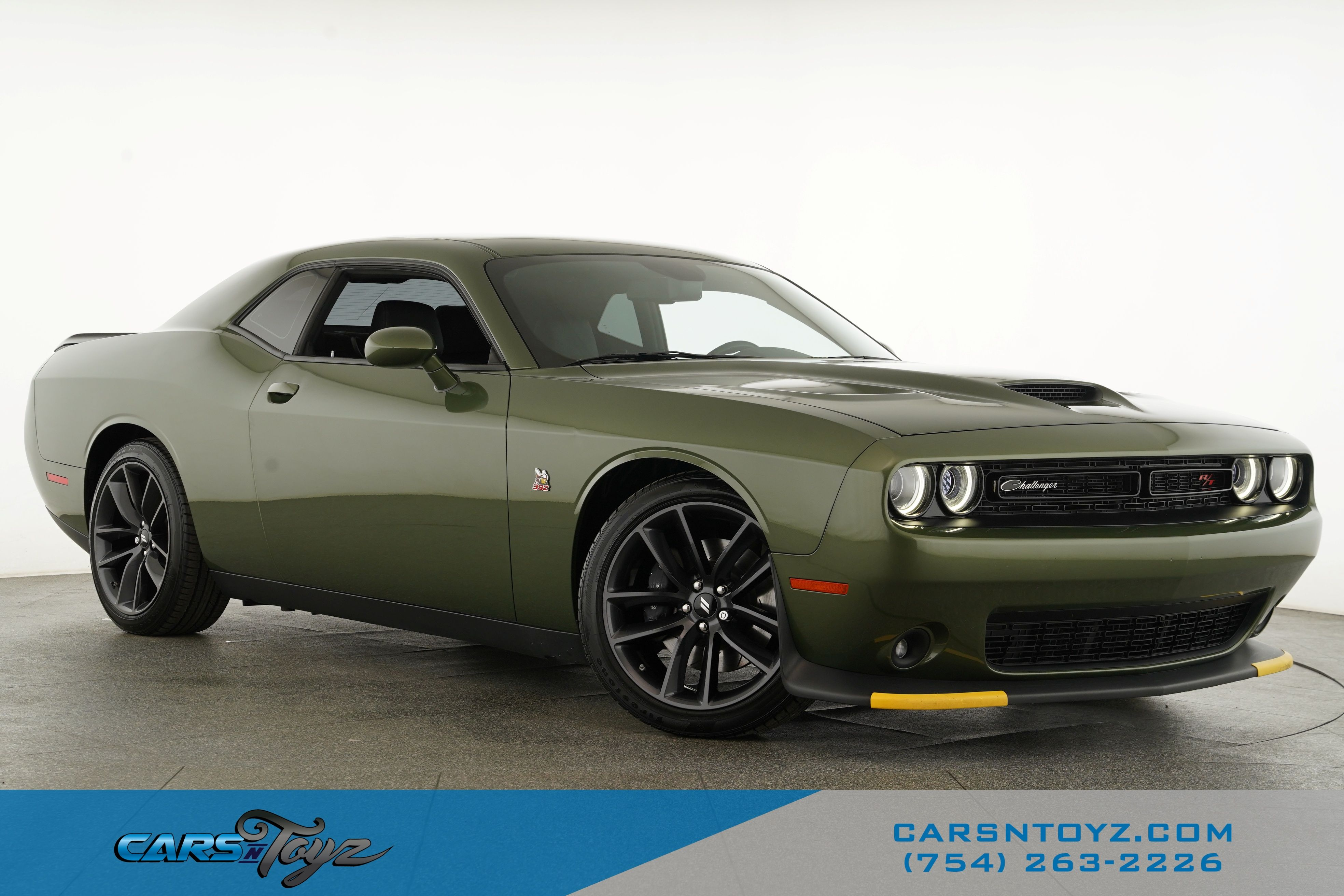 2019 DODGE Challenger R/T Scat Pack Rear Wheel Drive Coupe