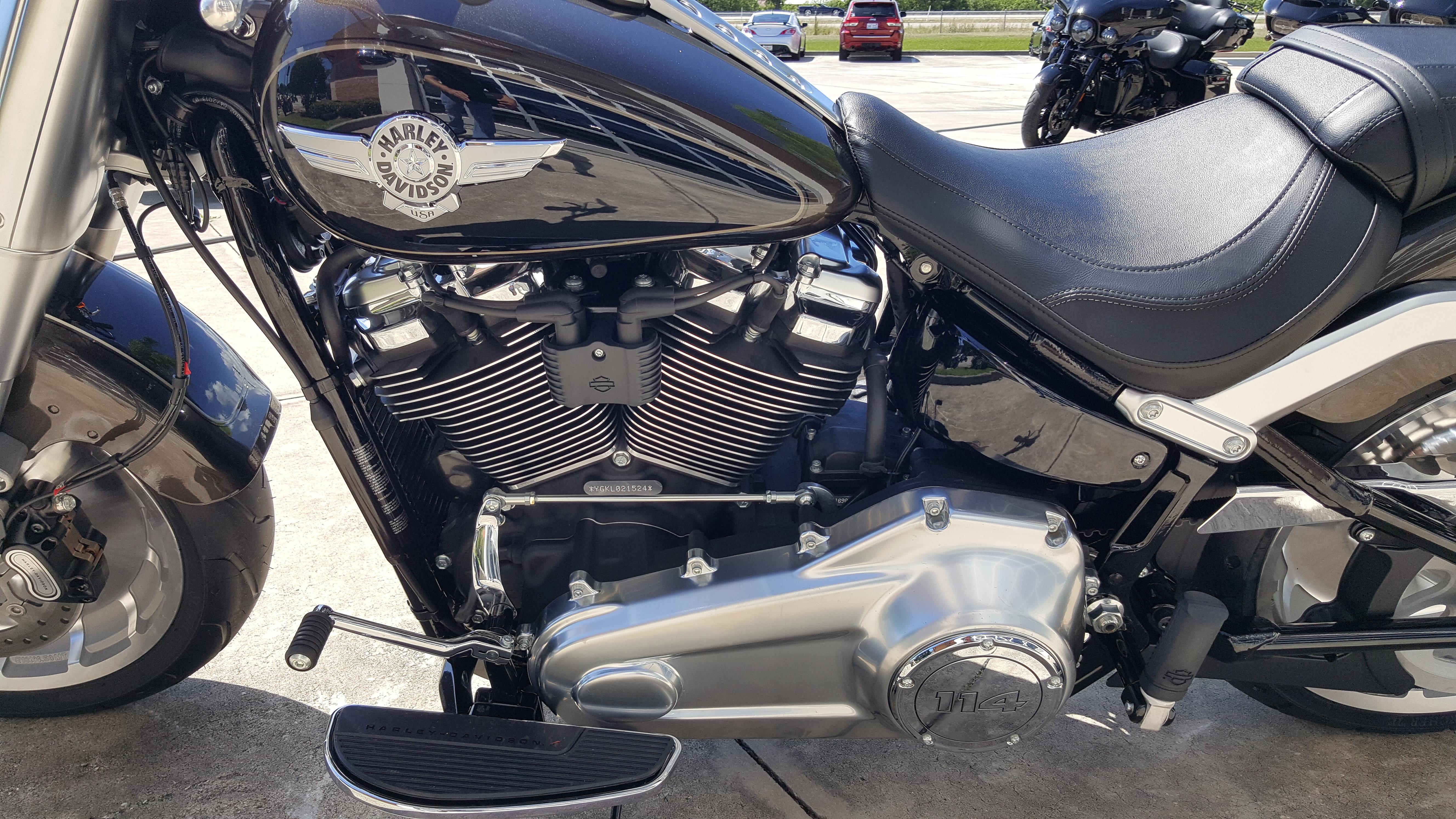 New 2020 Harley-Davidson Fat boy 114