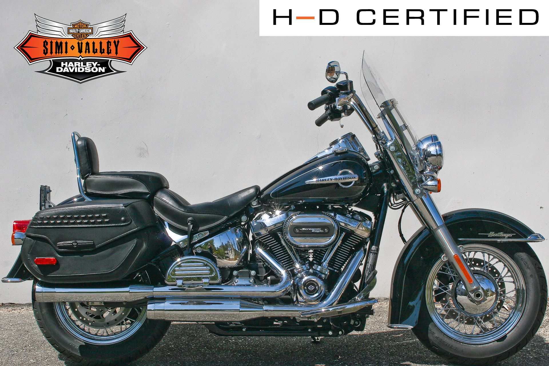 Certified Pre-Owned 2020 Harley-Davidson Softail Heritage Classic FLHC