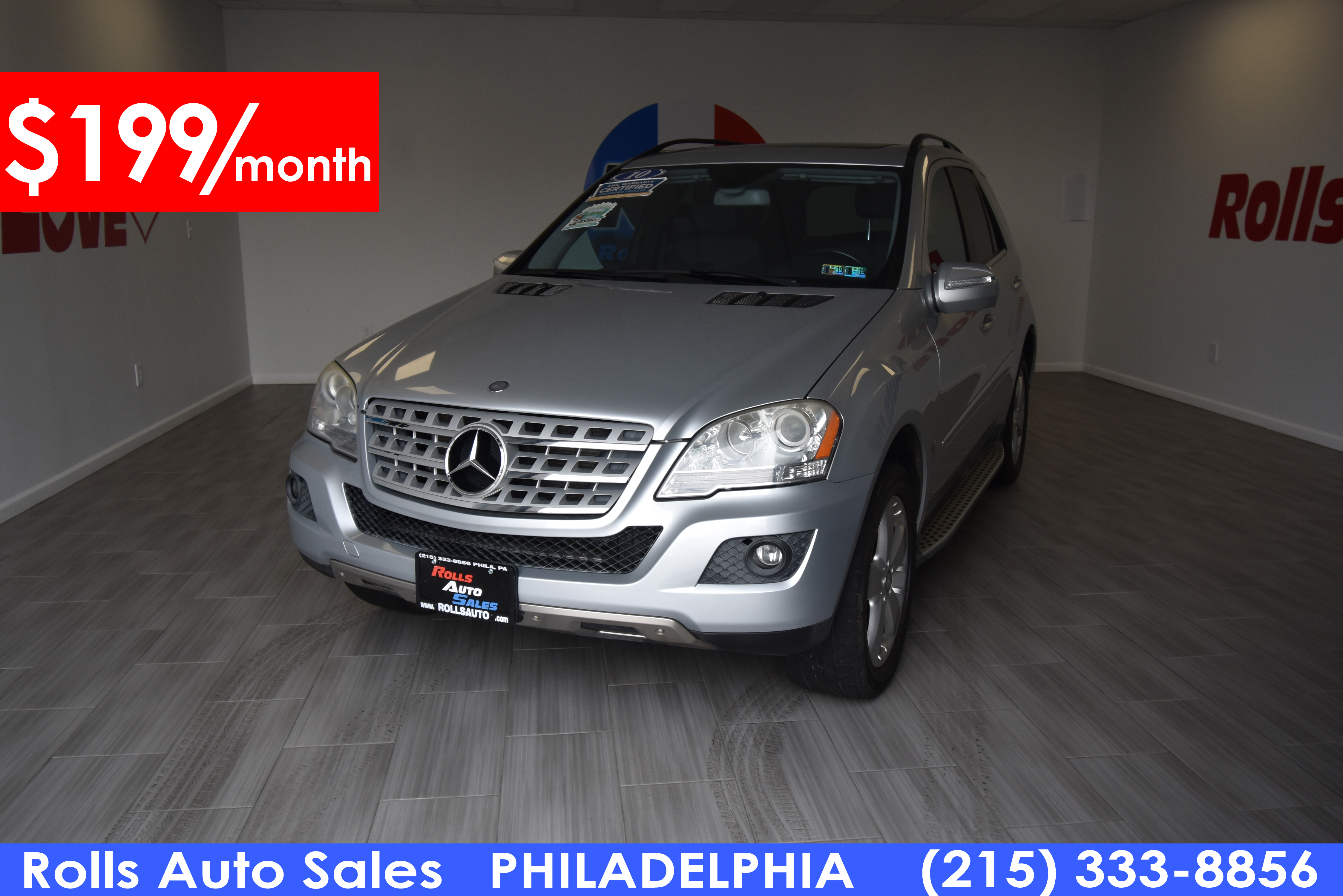 Pre-Owned 2010 Mercedes-Benz M Class Utility 4D ML350 4WD