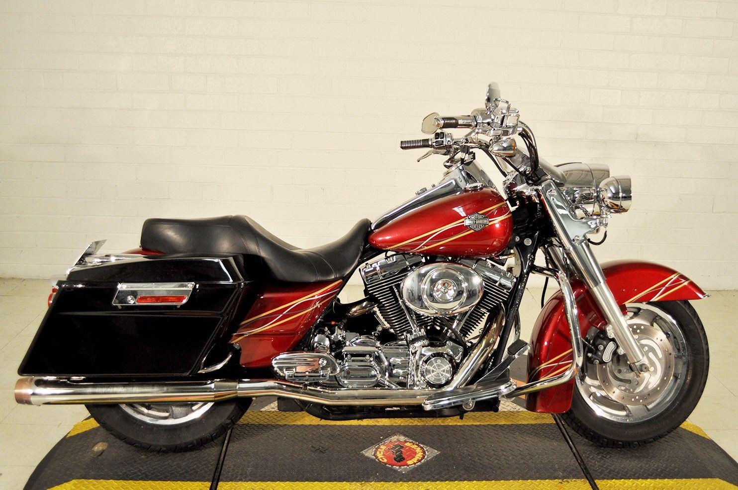 Pre Owned 2004 Harley Davidson Road King Custom In Winston Salem Tn703750 Smokin Harley Davidson