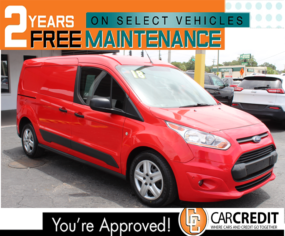 Pre-Owned 2018 Ford Transit Connect Van XLT