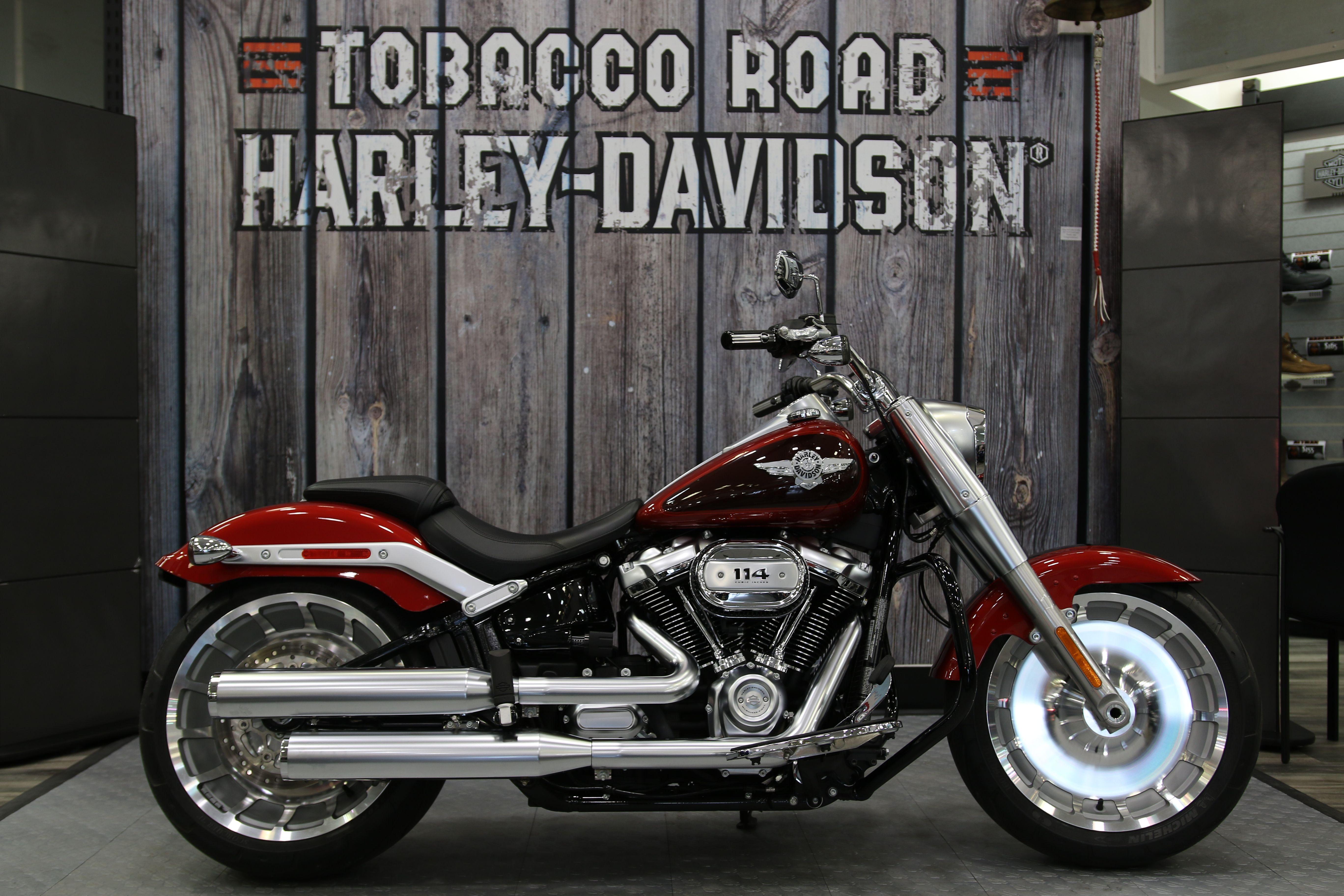 2018 Harley-Davidson Fat Boy 114