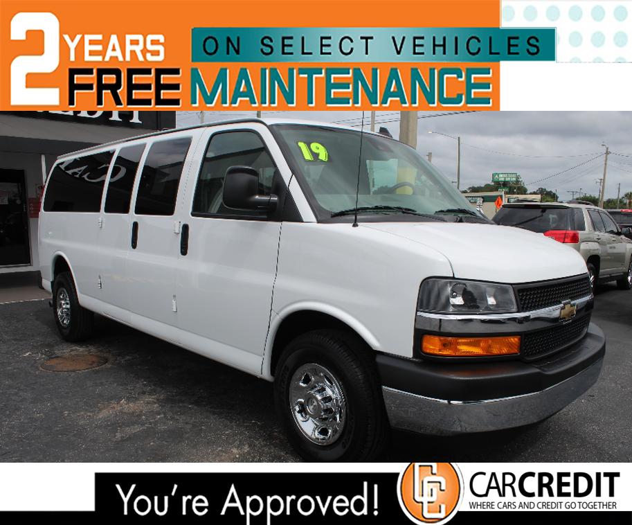 Pre-Owned 2019 Chevrolet Express Passenger LT