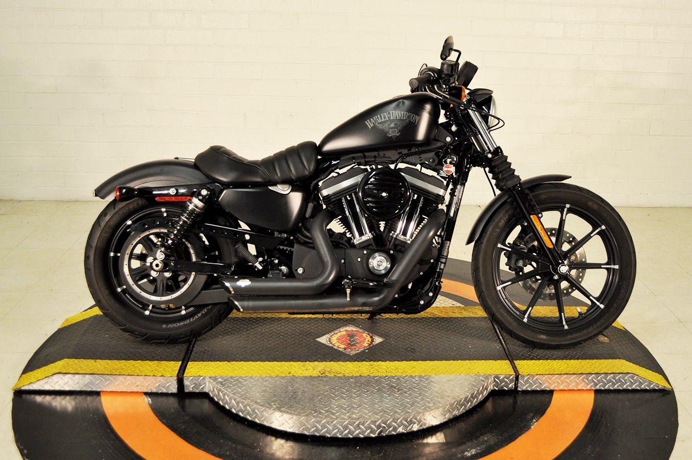 Pre Owned 2016 Harley Davidson Iron 883 In Winston Salem Pn416364 Smokin Harley Davidson