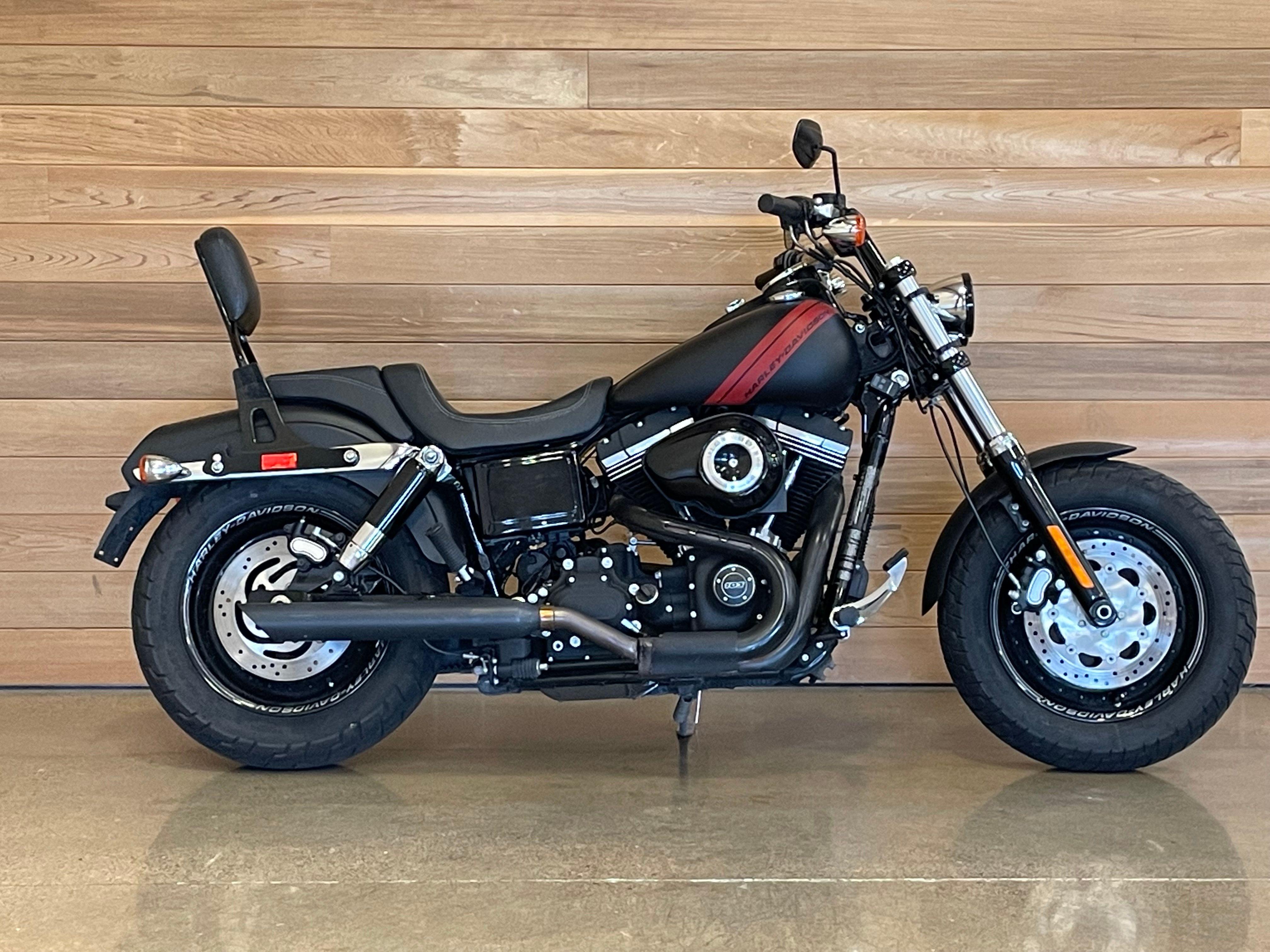 Pre-Owned 2014 Harley-Davidson Fat Bob FXDF