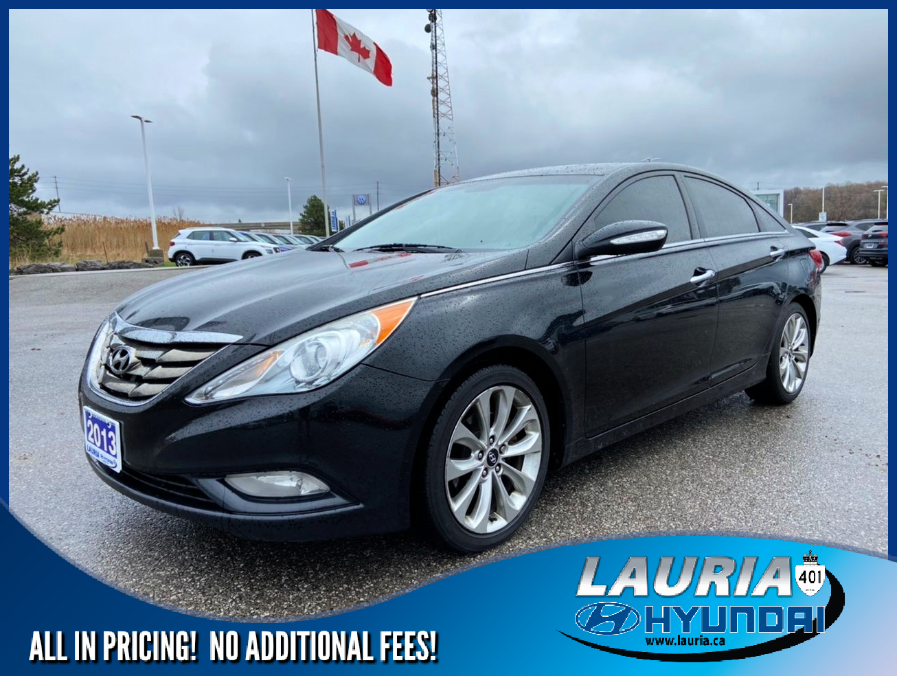 Pre-Owned 2013 Hyundai Sonata 2.0T Limited - LOADED