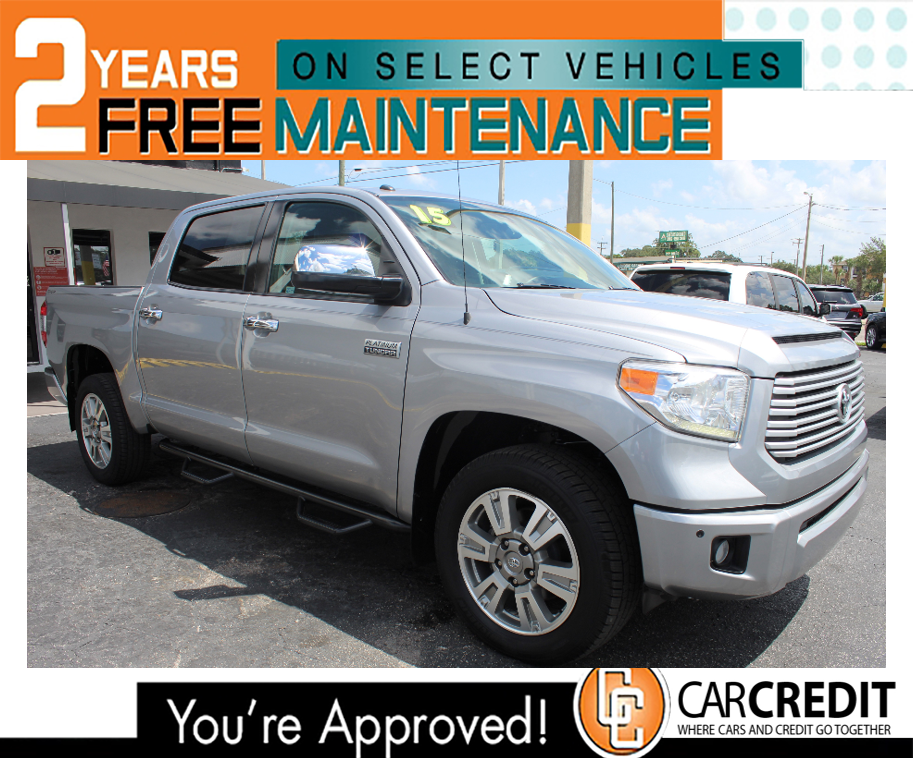 Pre-Owned 2015 Toyota Tundra 2WD Truck Platinum