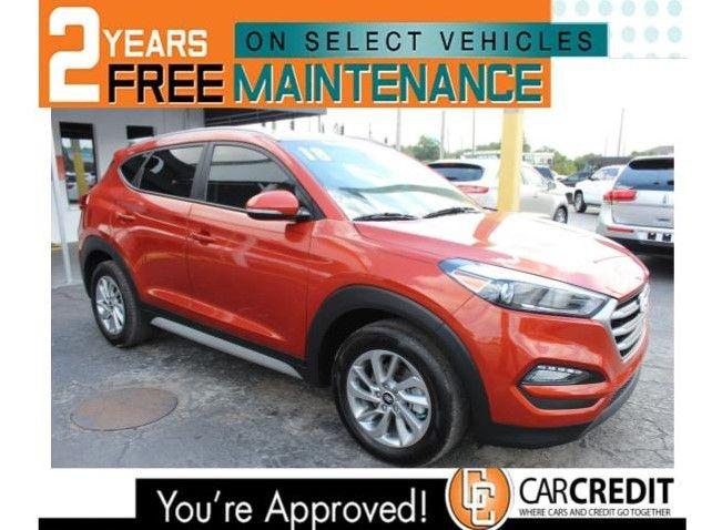 Pre-Owned 2018 Hyundai Tucson SEL Plus