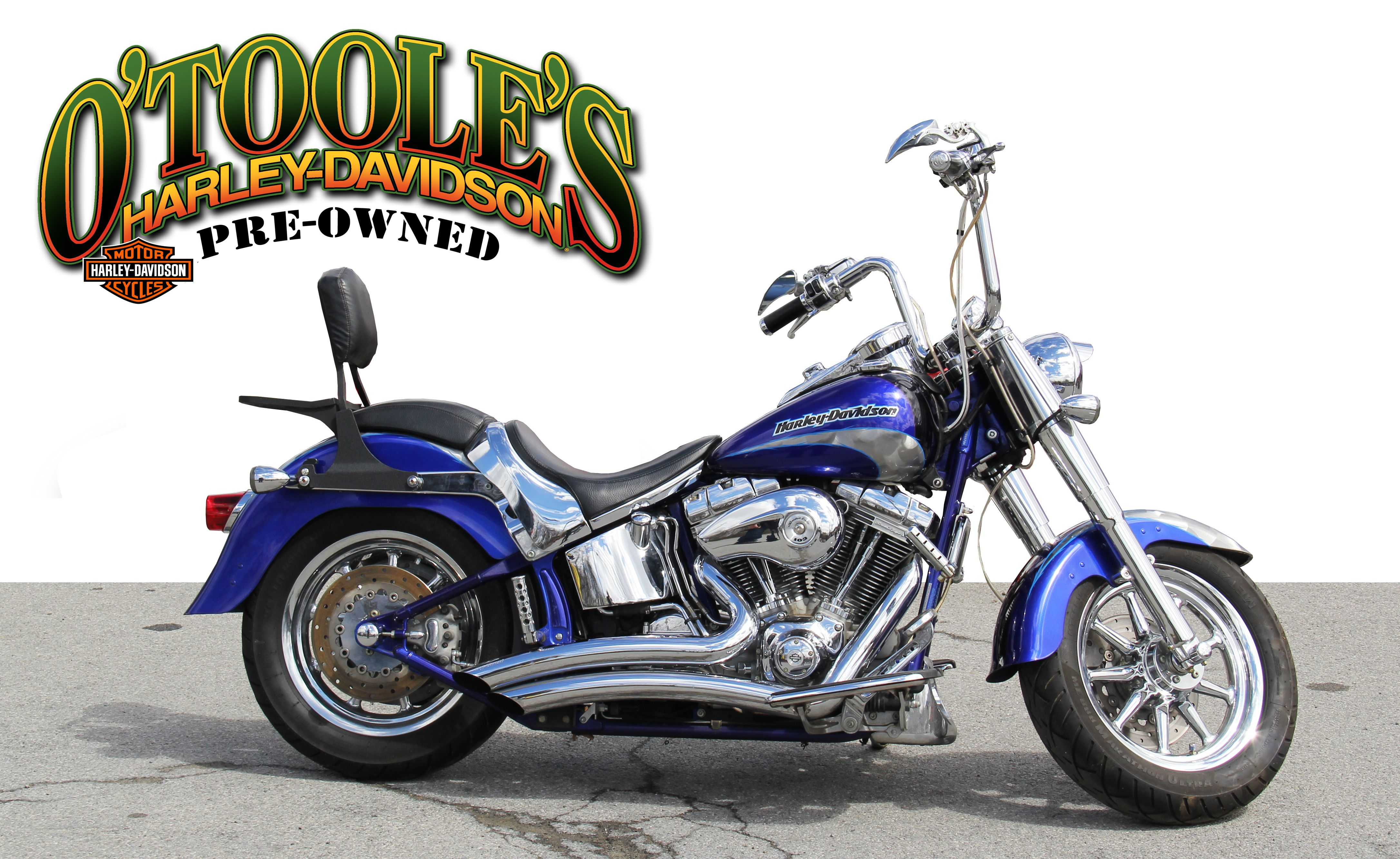 Pre Owned 2005 Harley Davidson Softail Fat Boy Screamin Eagle
