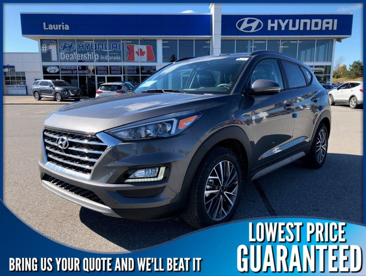 New 2020 Hyundai Tucson 2.4L AWD Preferred Trend Pkg