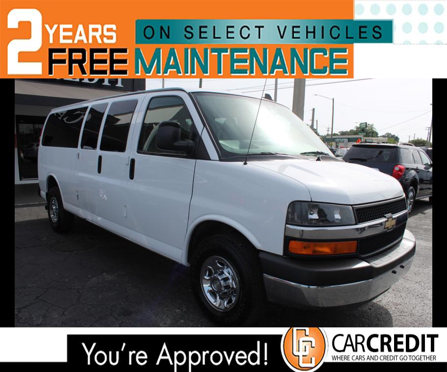 Pre-Owned 2016 Chevrolet Express Passenger LT
