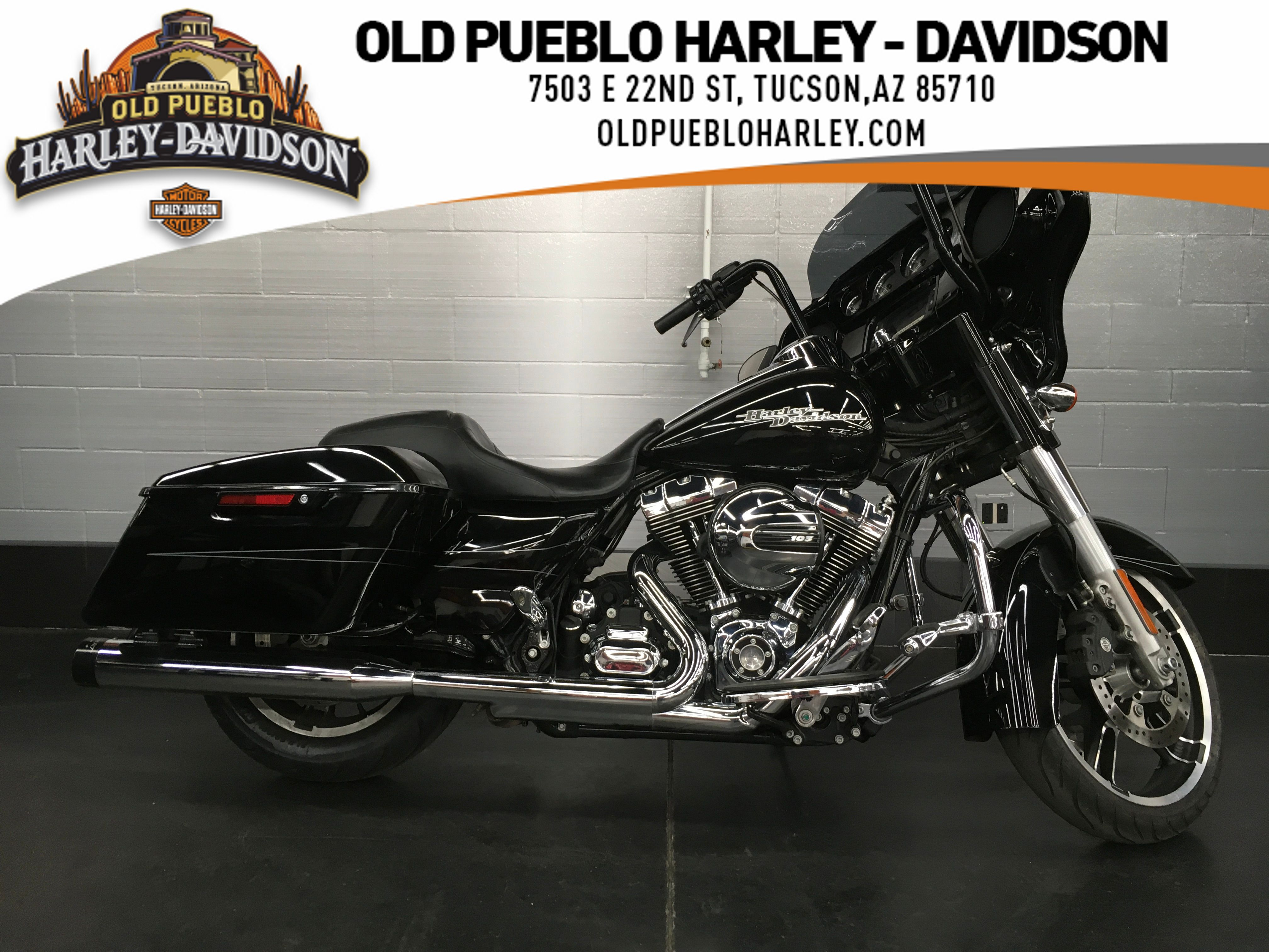 Pre-Owned 2016 Harley-Davidson Touring Street Glide Special FLHXS