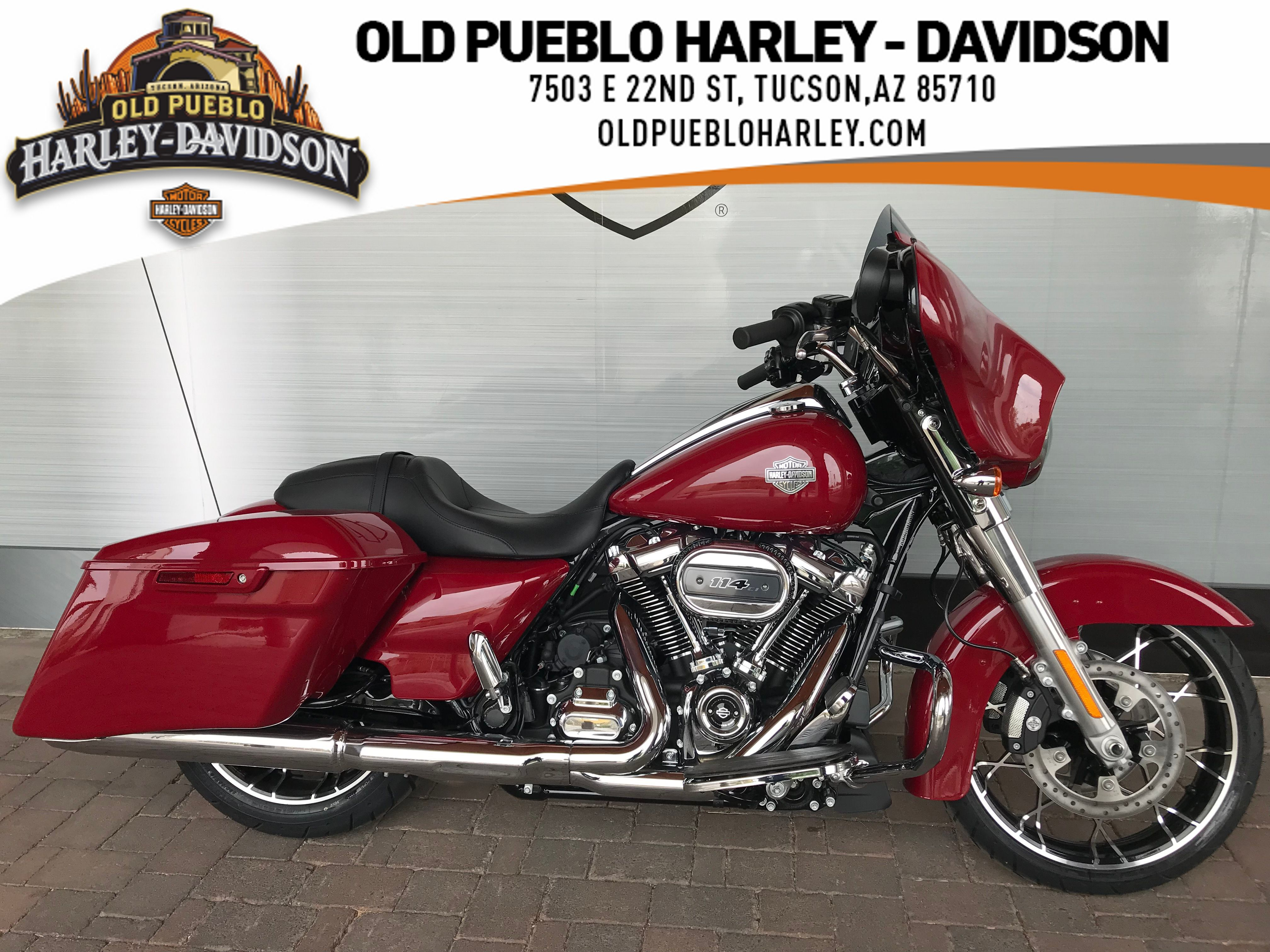 New 2021 Harley-Davidson Touring Street Glide Special FLHXS