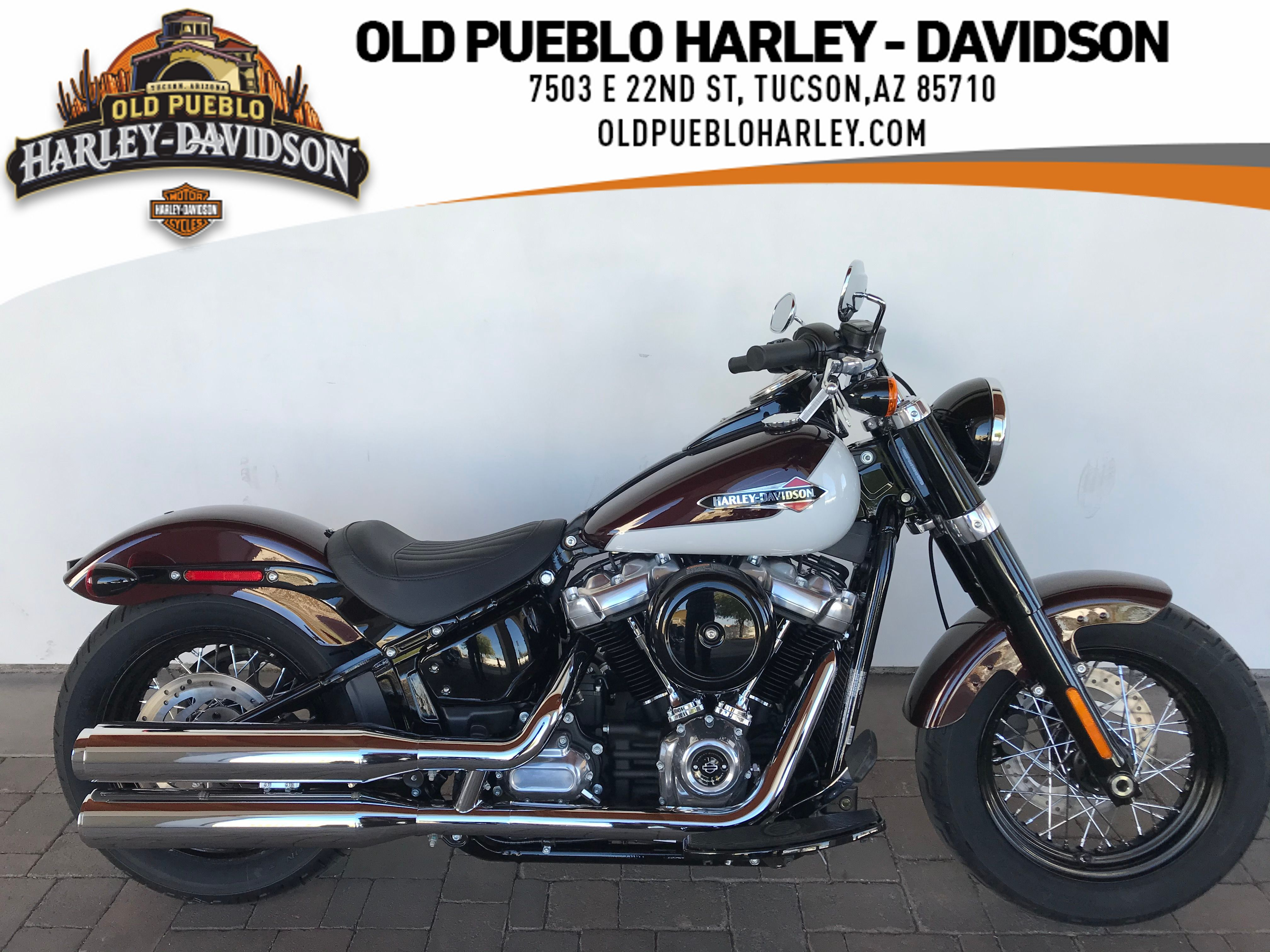 New 2021 Harley-Davidson Softail Slim FLSL