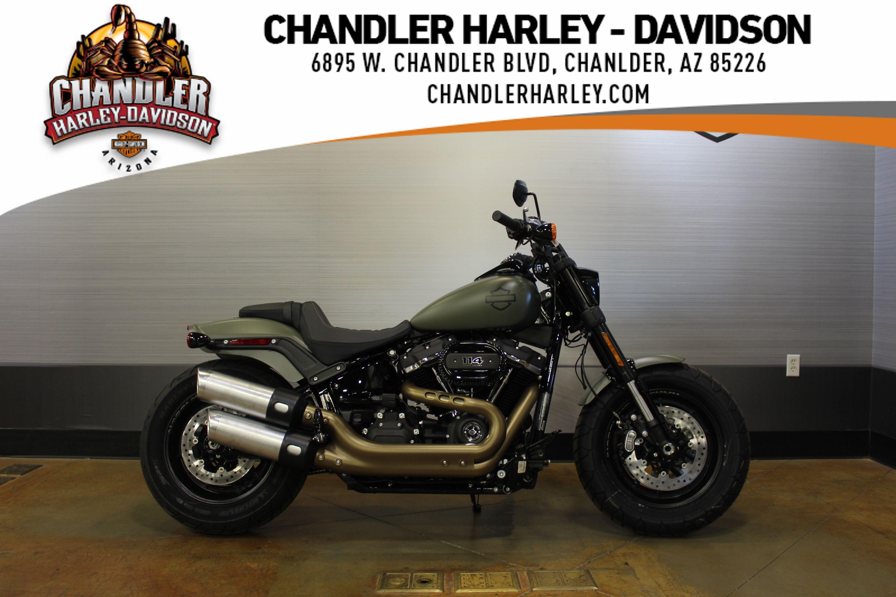 2021 Harley-Davidson SOFTAIL FAT BOB 114 FXFBS BLACK