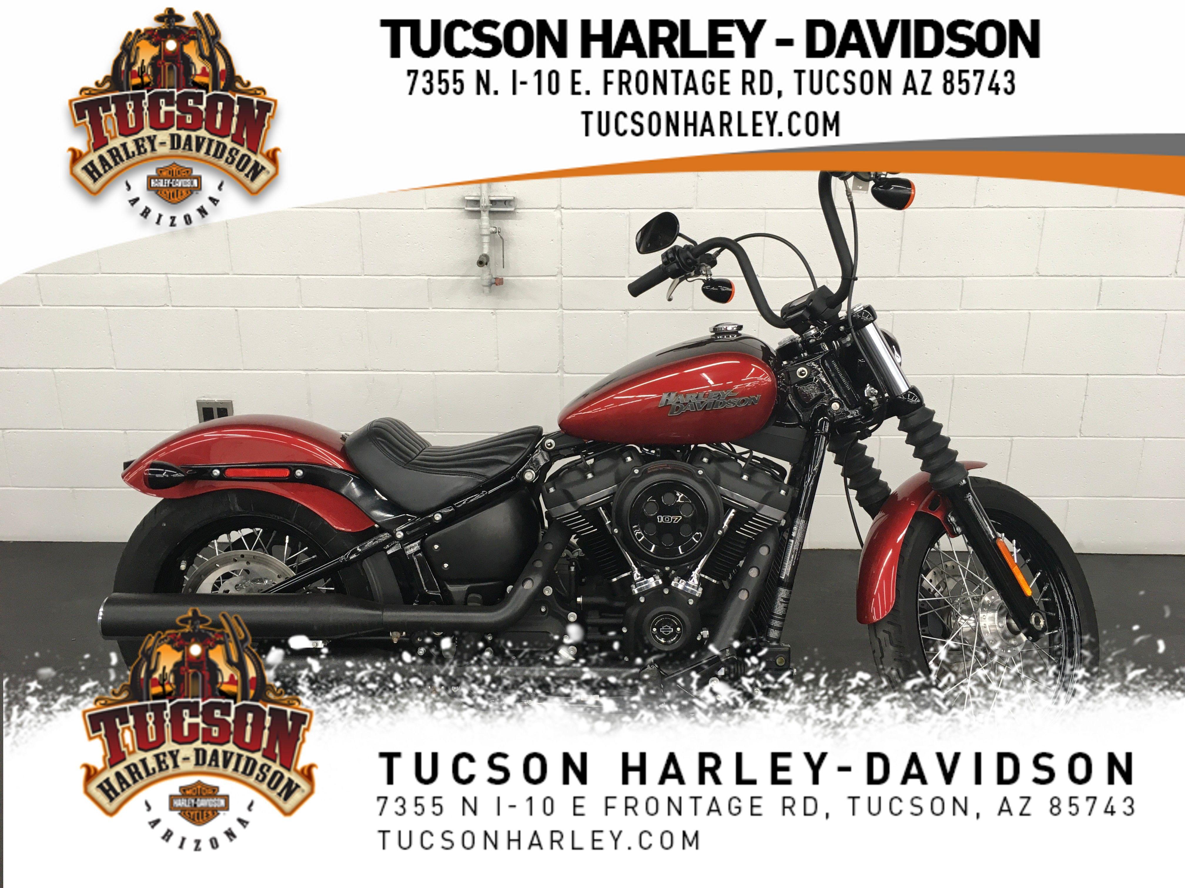 Pre-Owned 2018 Harley-Davidson Softail Street Bob FXBB