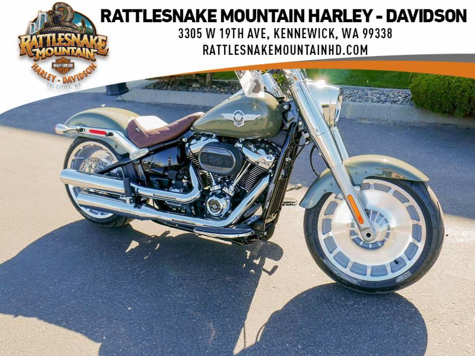 2021 Harley-Davidson Fat Boy 114