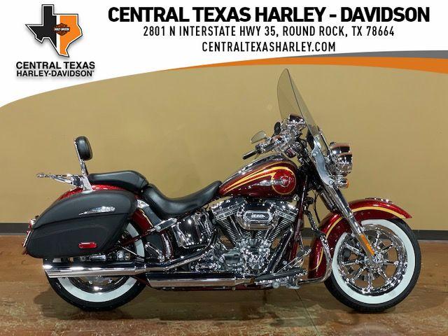 Pre-Owned 2014 Harley-Davidson CVO Softail Deluxe FLSTNSE
