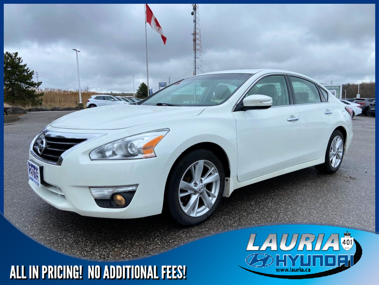 used 2015 Nissan Altima car, priced at $10,988