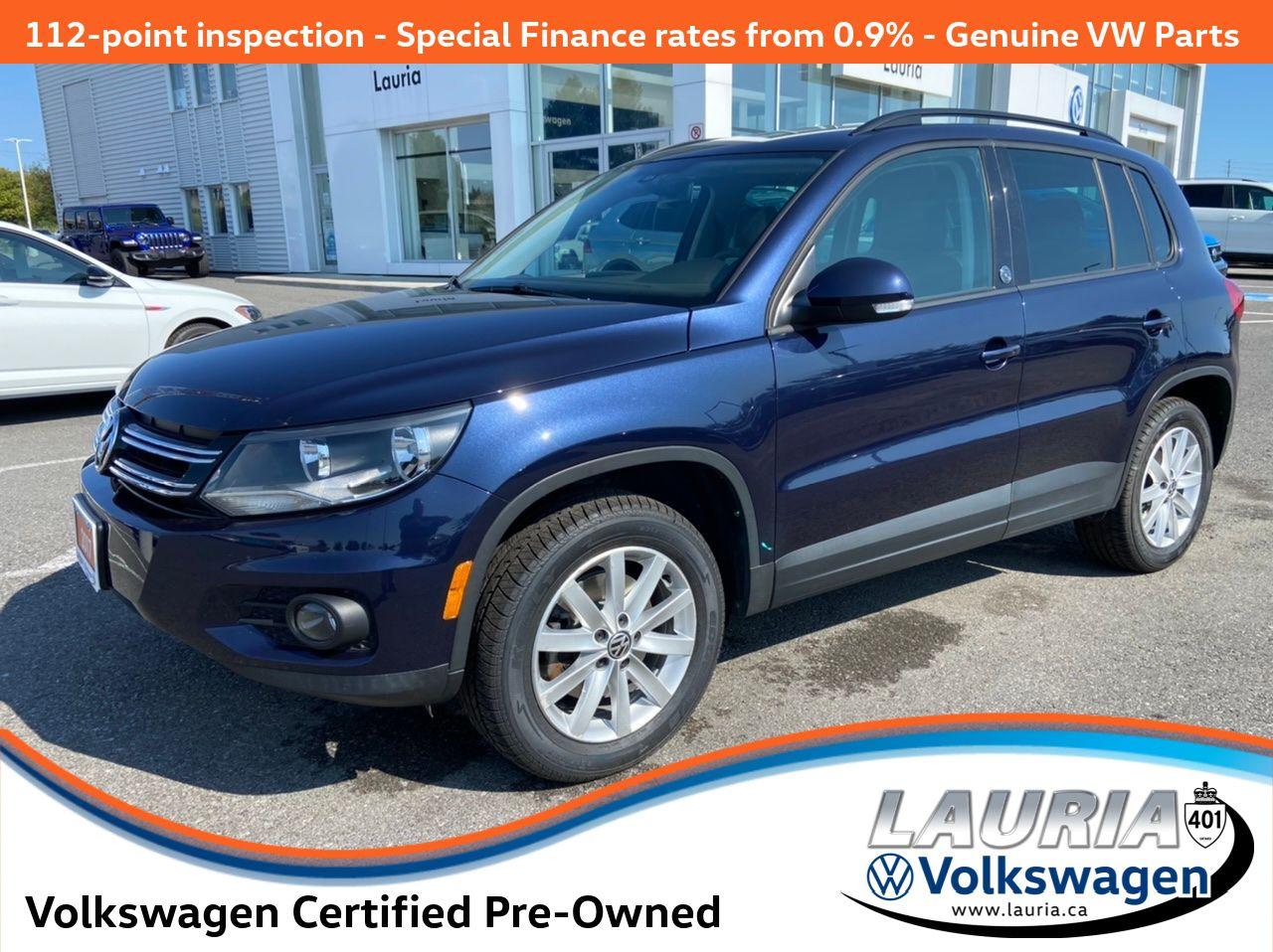 used 2017 Volkswagen Tiguan car, priced at $21,888