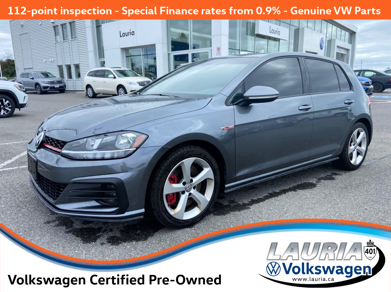 used 2018 Volkswagen Golf GTI car, priced at $25,888