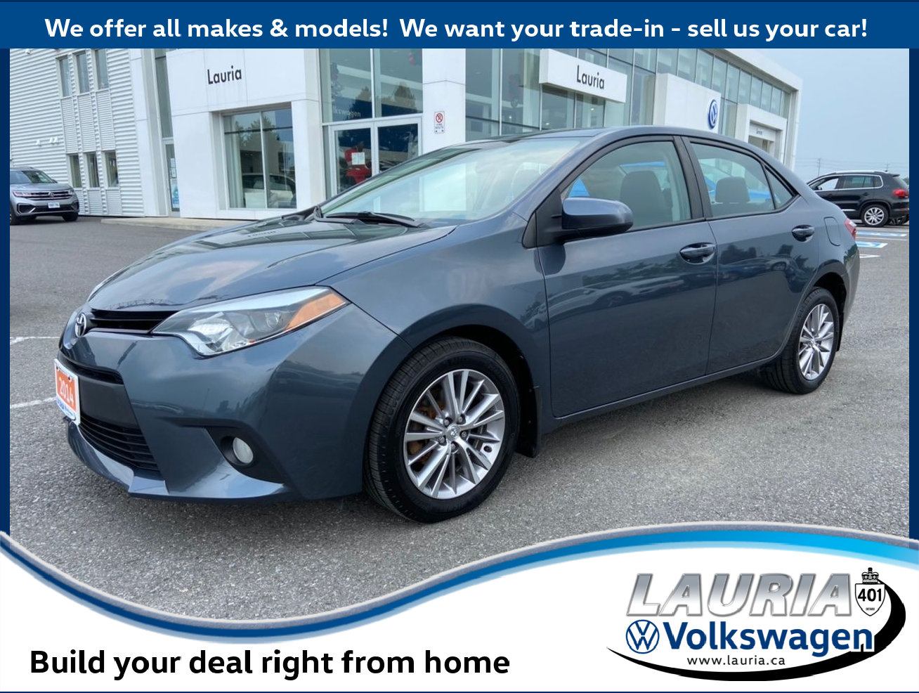 used 2014 Toyota Corolla car, priced at $12,688