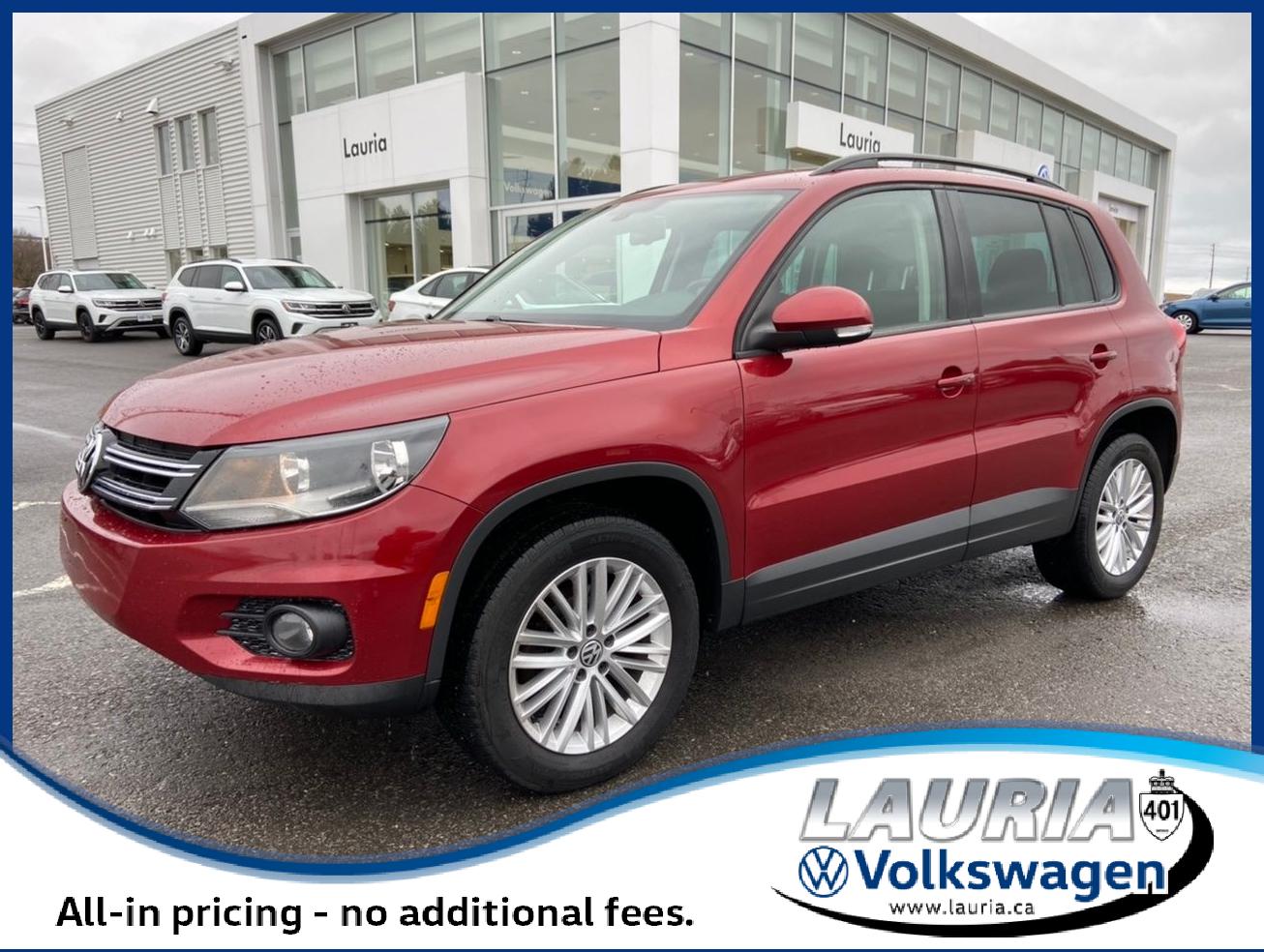 used 2016 Volkswagen Tiguan car, priced at $18,888